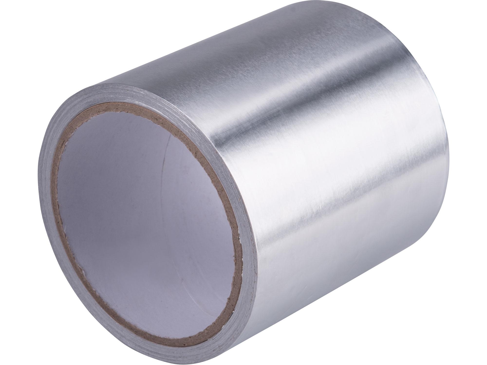 páska lepící ALU, hliníková,, 100mm x 10m