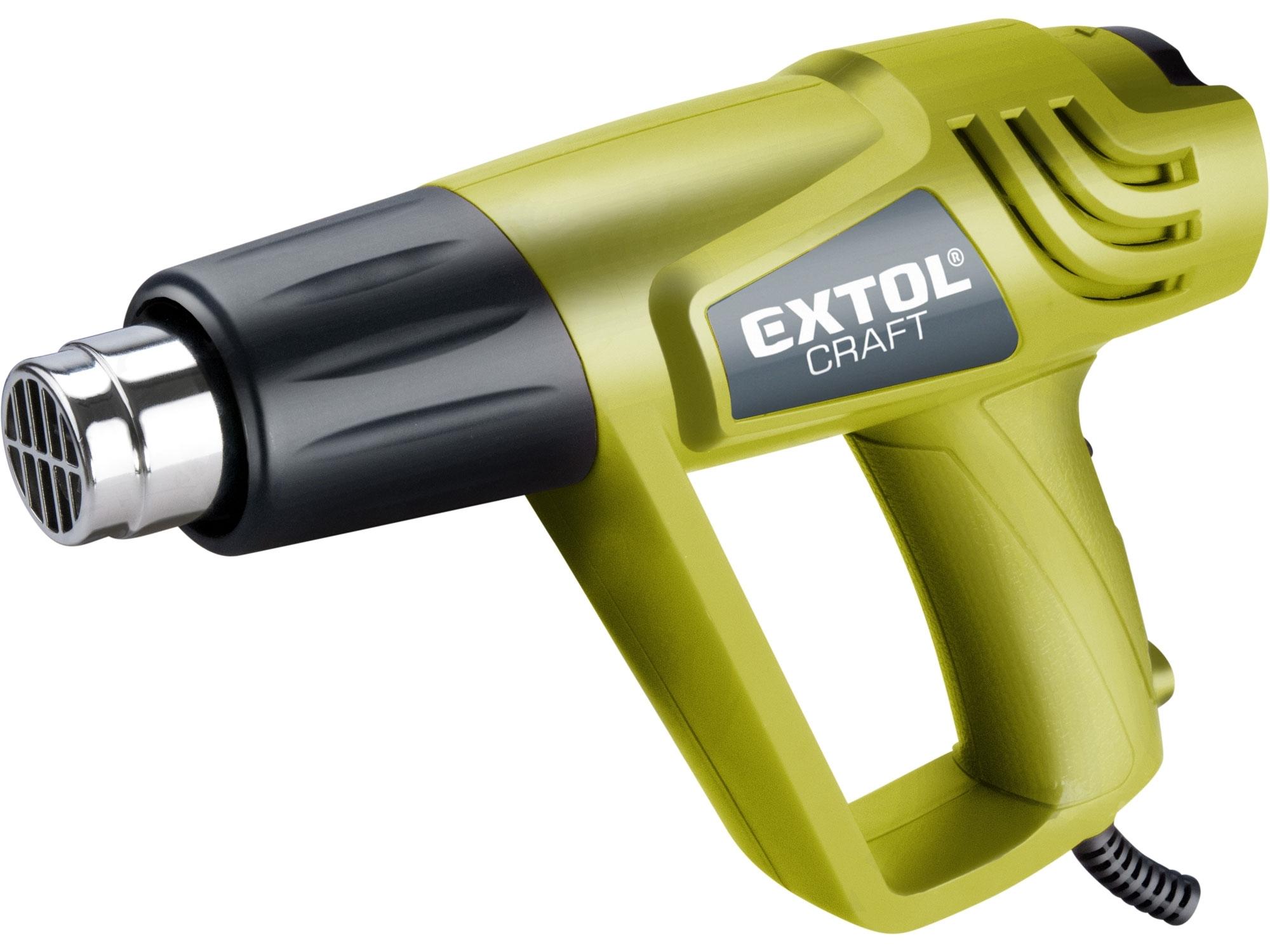 Pistole horkovzdušná, 2000W EXTOL CRAFT 411013