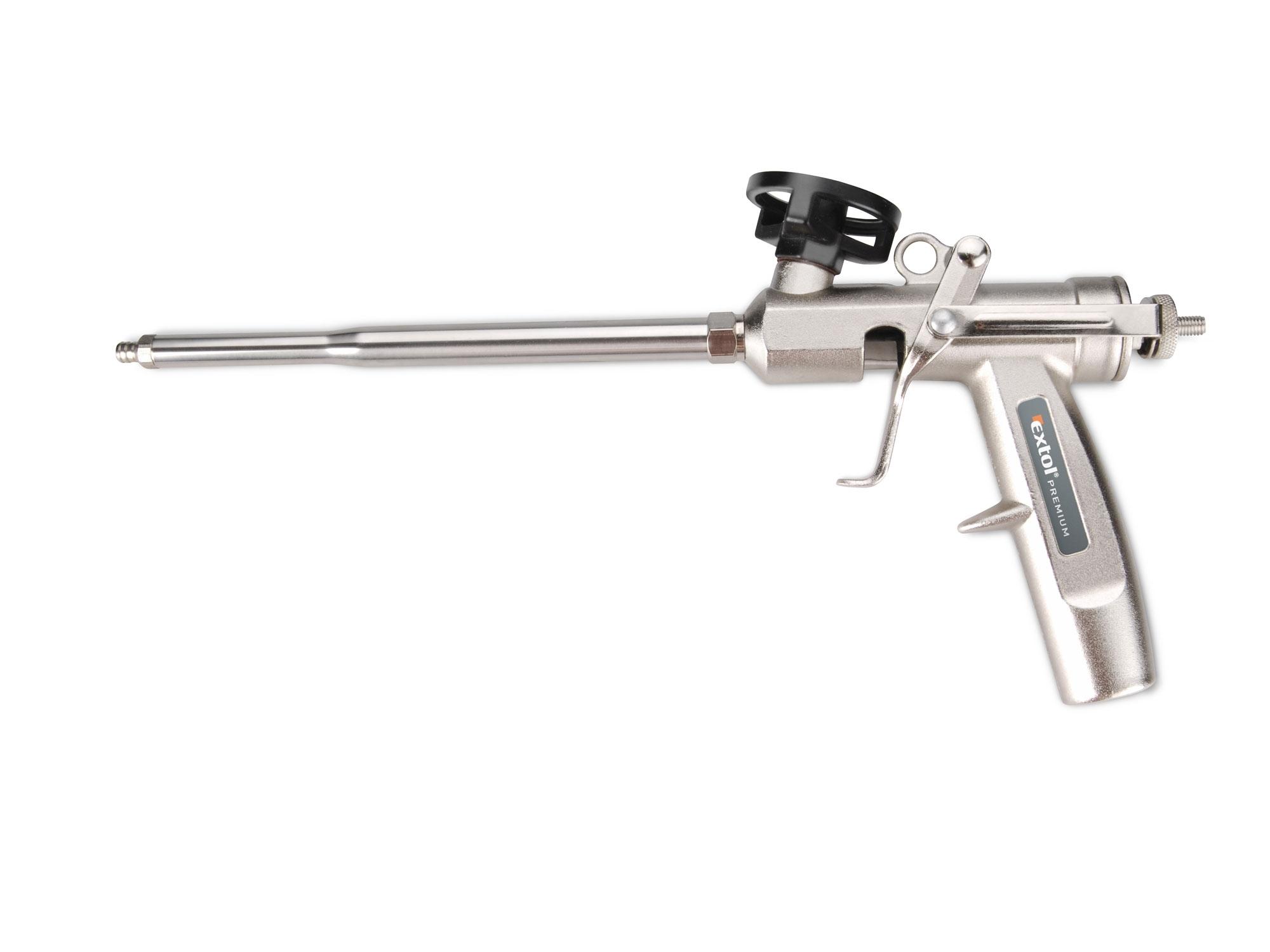 pistole na PU pěnu celokovová, EXTOL PREMIUM 8845205