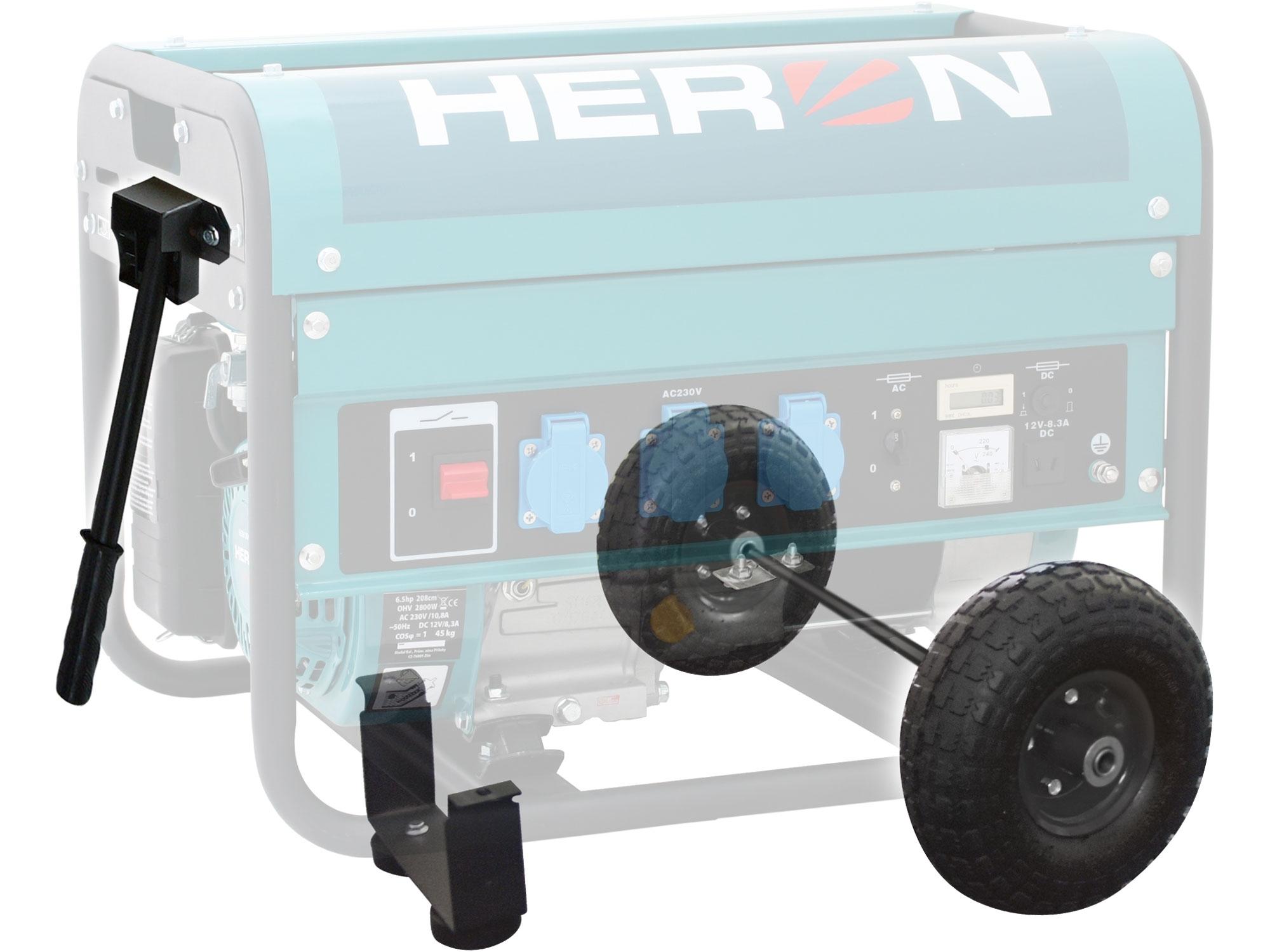 Podvozková sada pro elektrocentrály HERON CHS 25-30 8898104