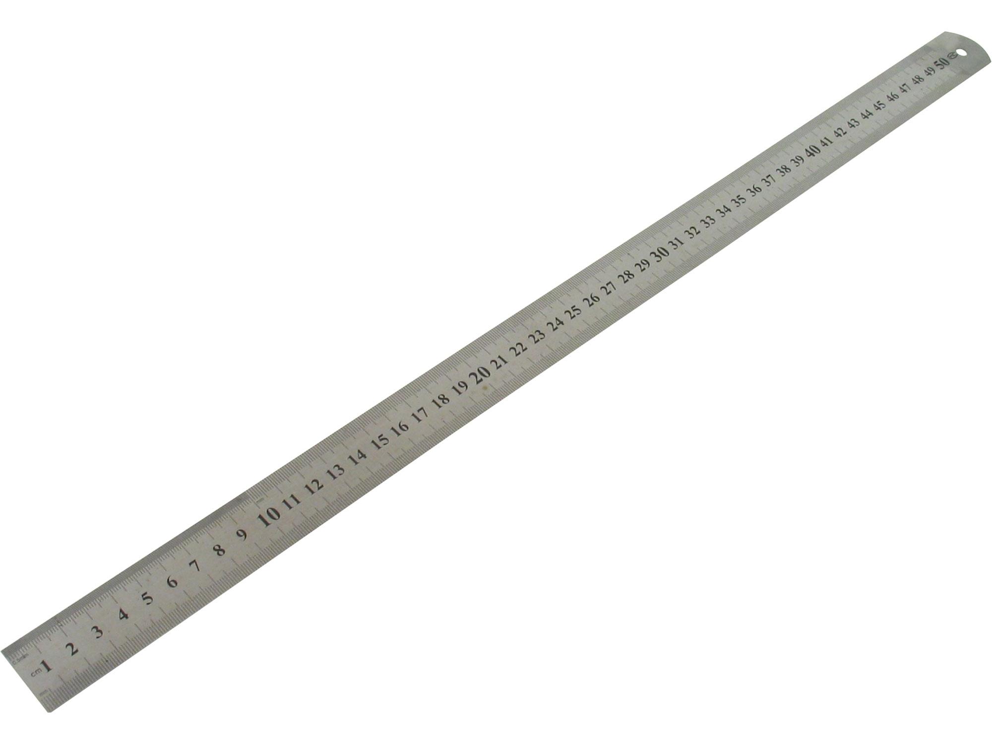 pravítko ocelové nerez, 500mm, EXTOL CRAFT 459