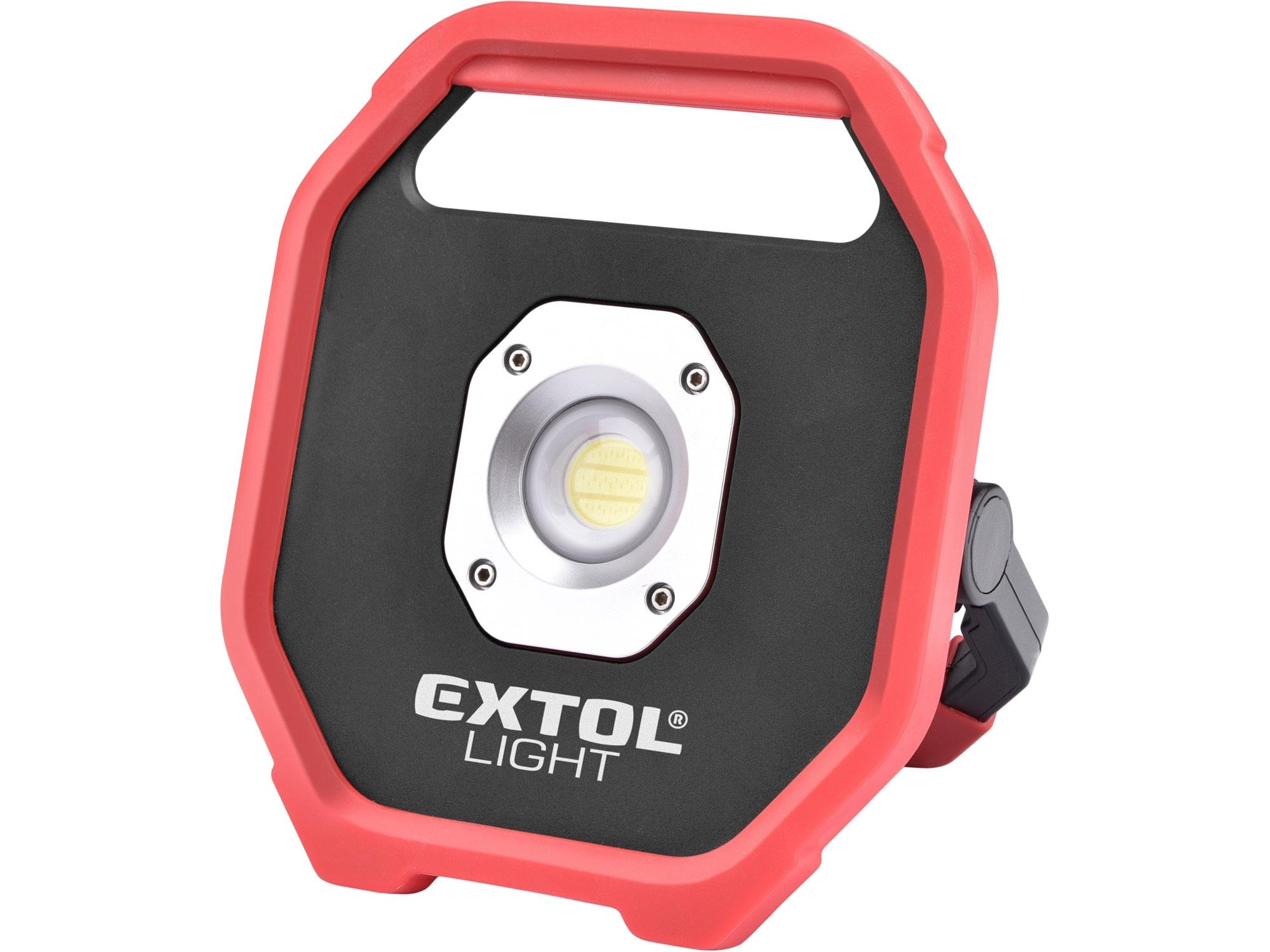 reflektor LED, 1200lm, na baterie, EXTOL LIGHT 43260