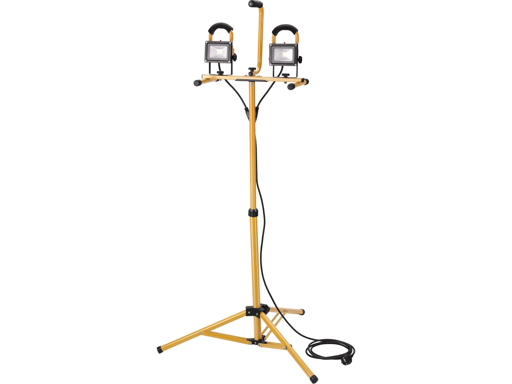 reflektor LED, 2x800lm, se stojanem 125cm, EXTOL LIGHT 43281