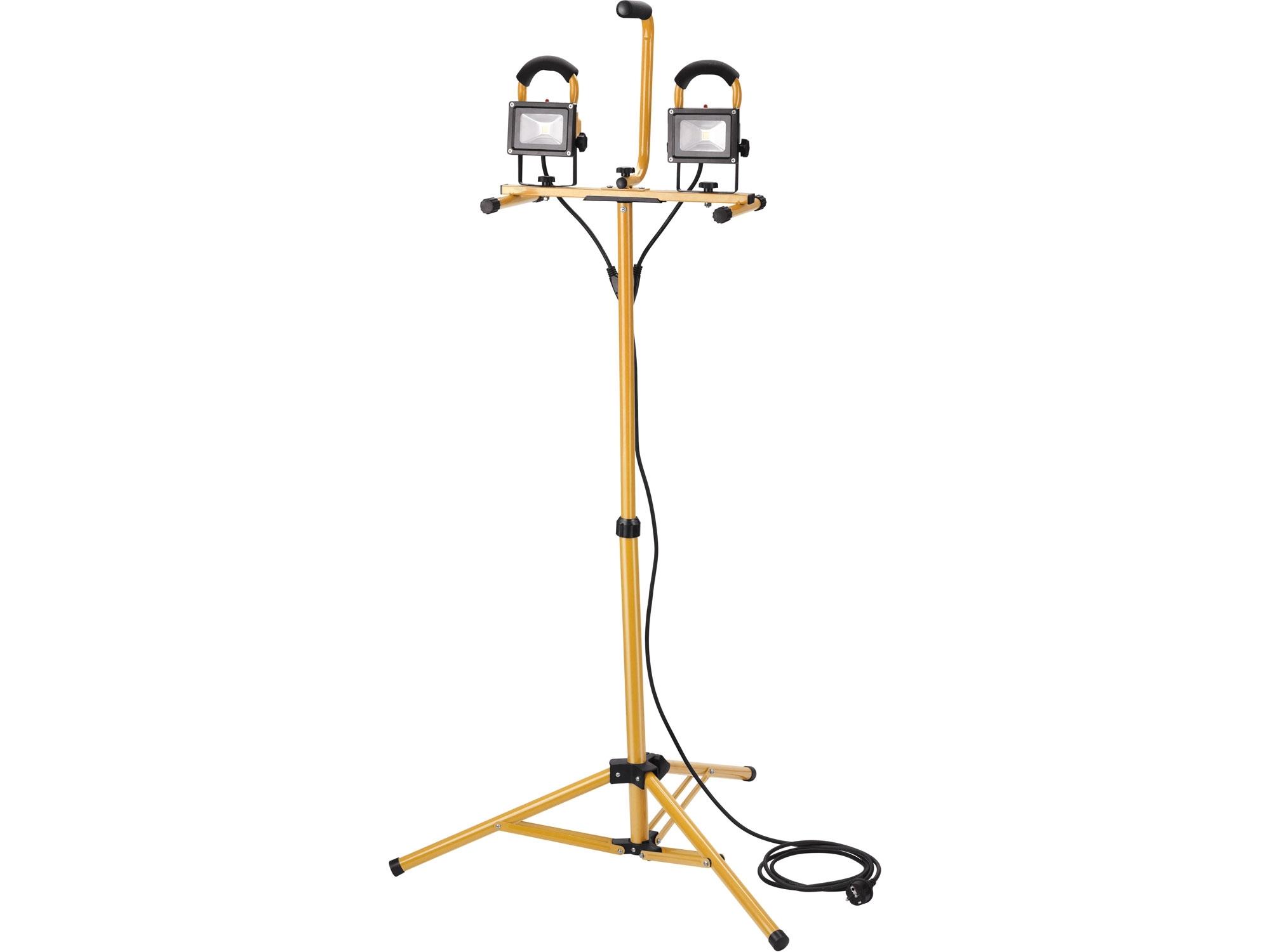 reflektor LED, 2x800lm, se stojanem 125cm
