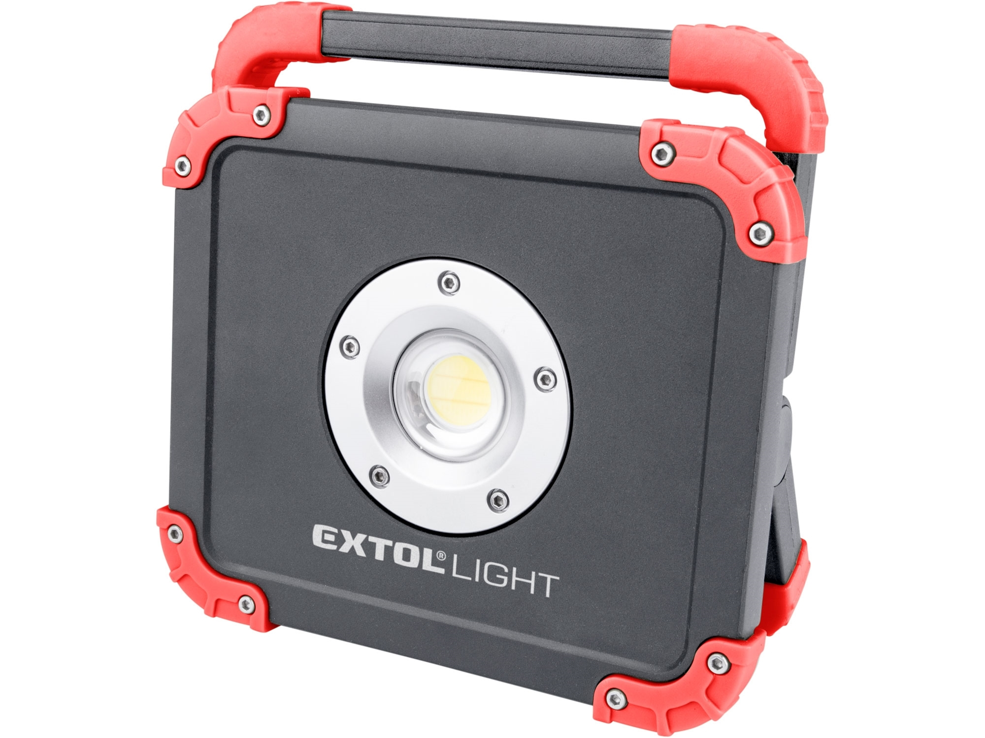 reflector LED nabíjecí s powerbankou, 2000lm, EXTOL LIGHT 43134