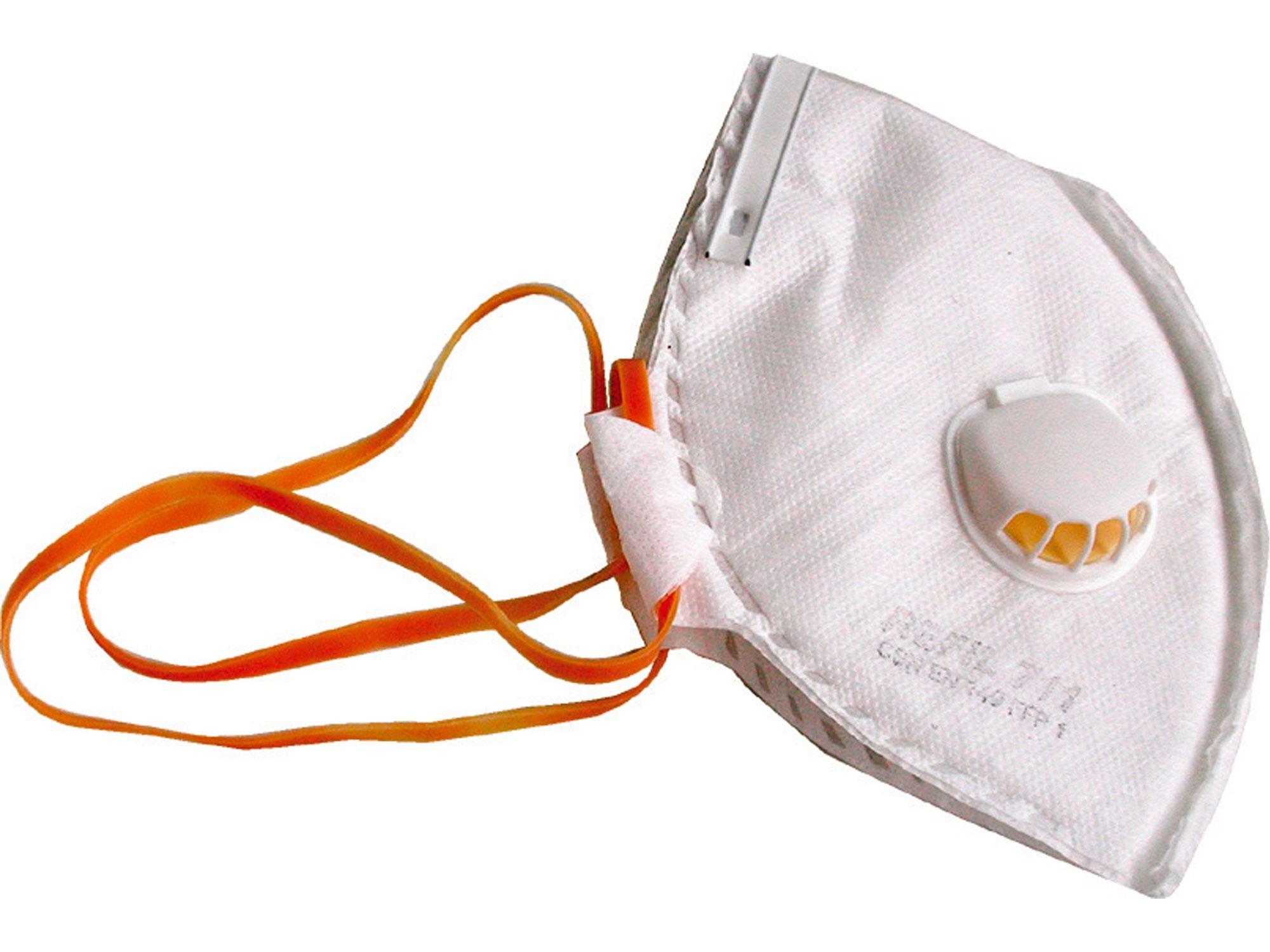 respirátor 1ks skládací, ventil výdech.,do 4-násobku NPK