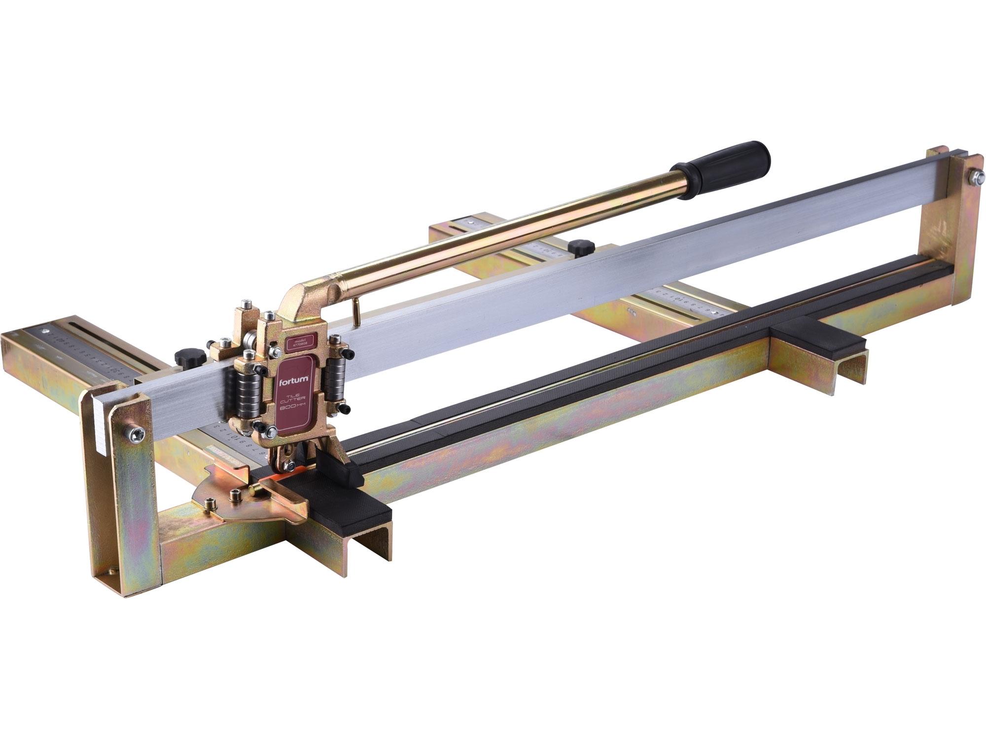 řezačka obkladů profesionální, 800mm, FORTUM 4770808