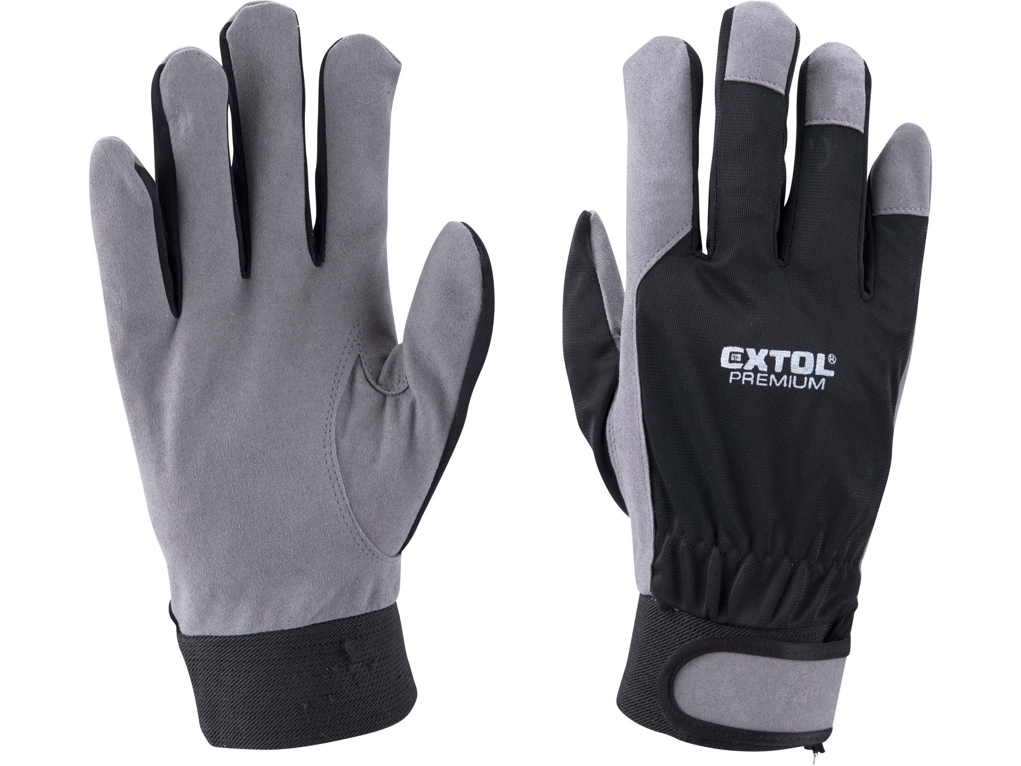 """rukavice LUREX, velikost 10"""""""