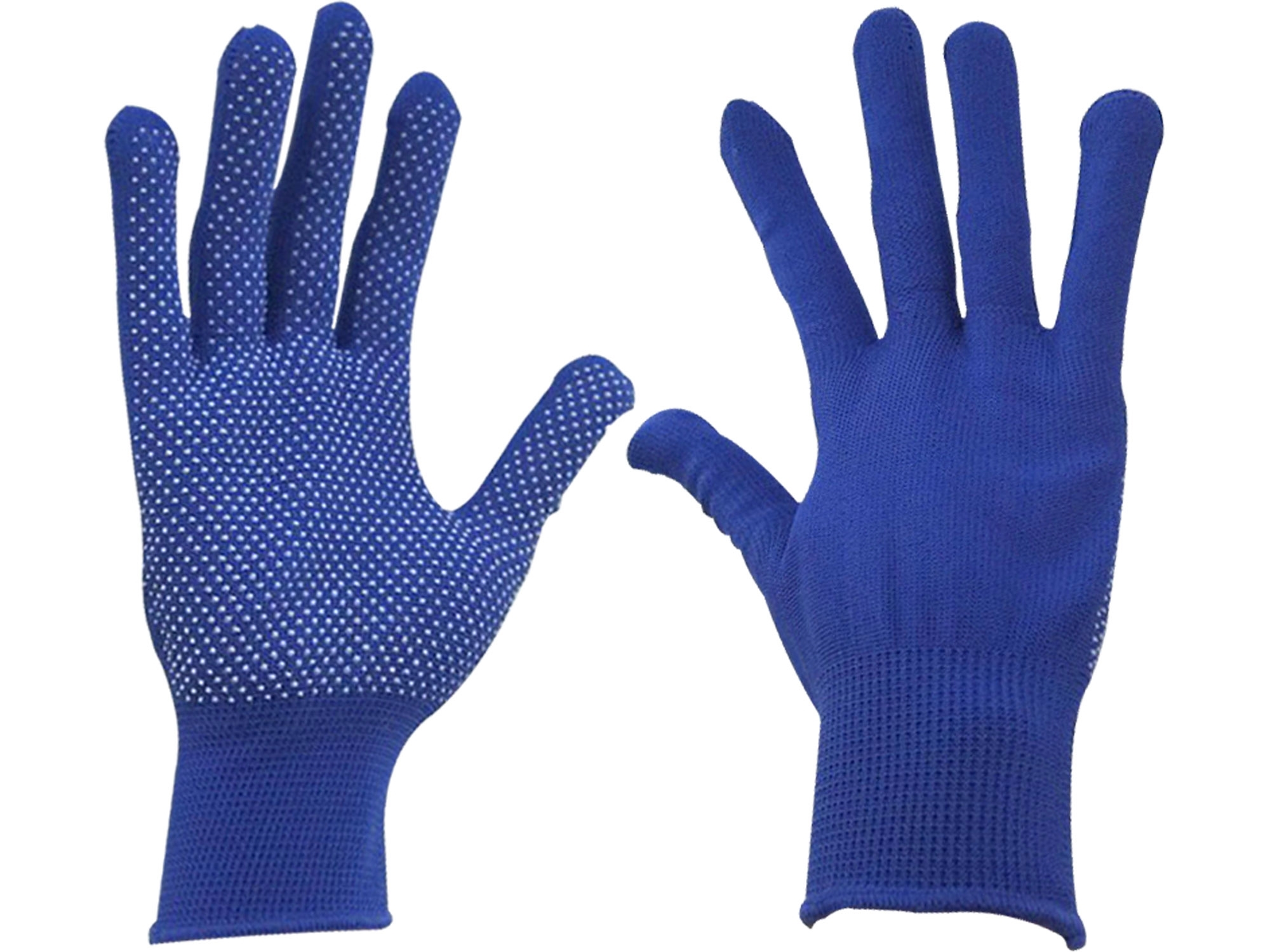"""rukavice z polyesteru s PVC terčíky na dlani, velikost 10"""", EXTOL CRAFT 99715"""