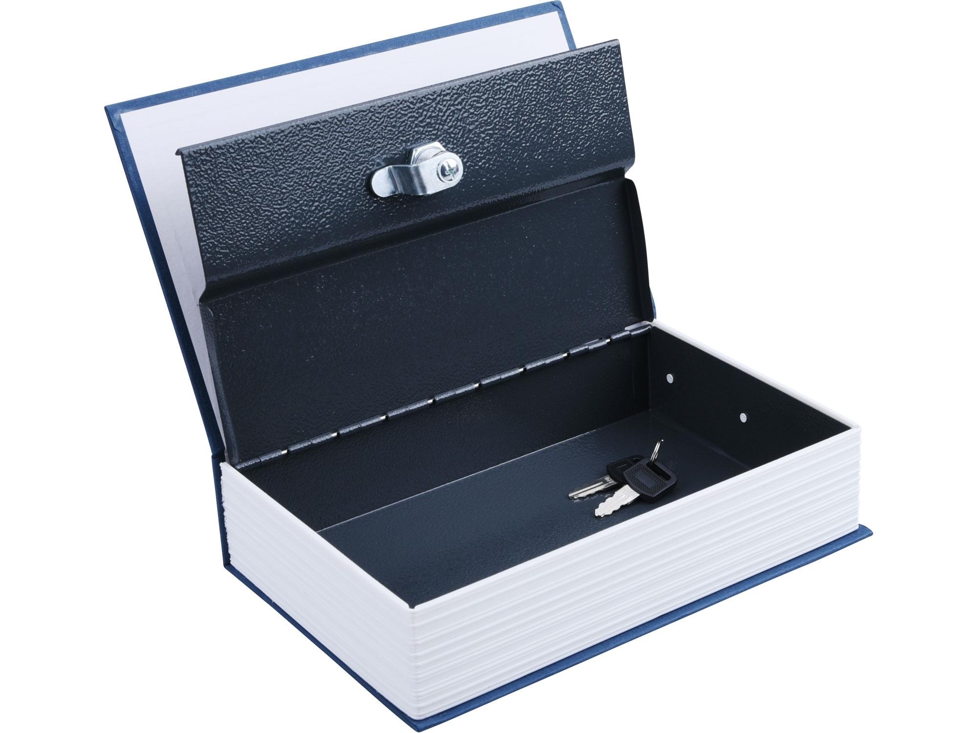 schránka bezpečnostní - knížka, 245x155x55mm