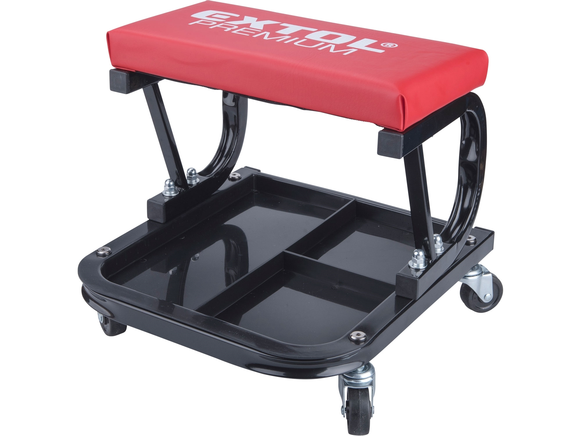 sedák montážní pojízdný, nosnost do 120kg, EXTOL PREMIUM 8863300