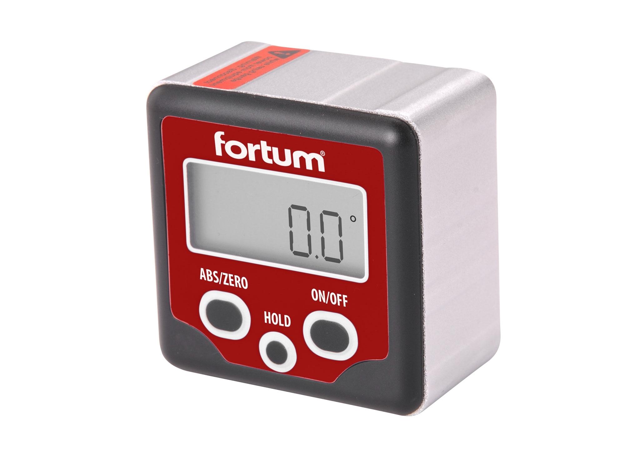 sklonoměr digitální, 0°-360°, FORTUM 4780200