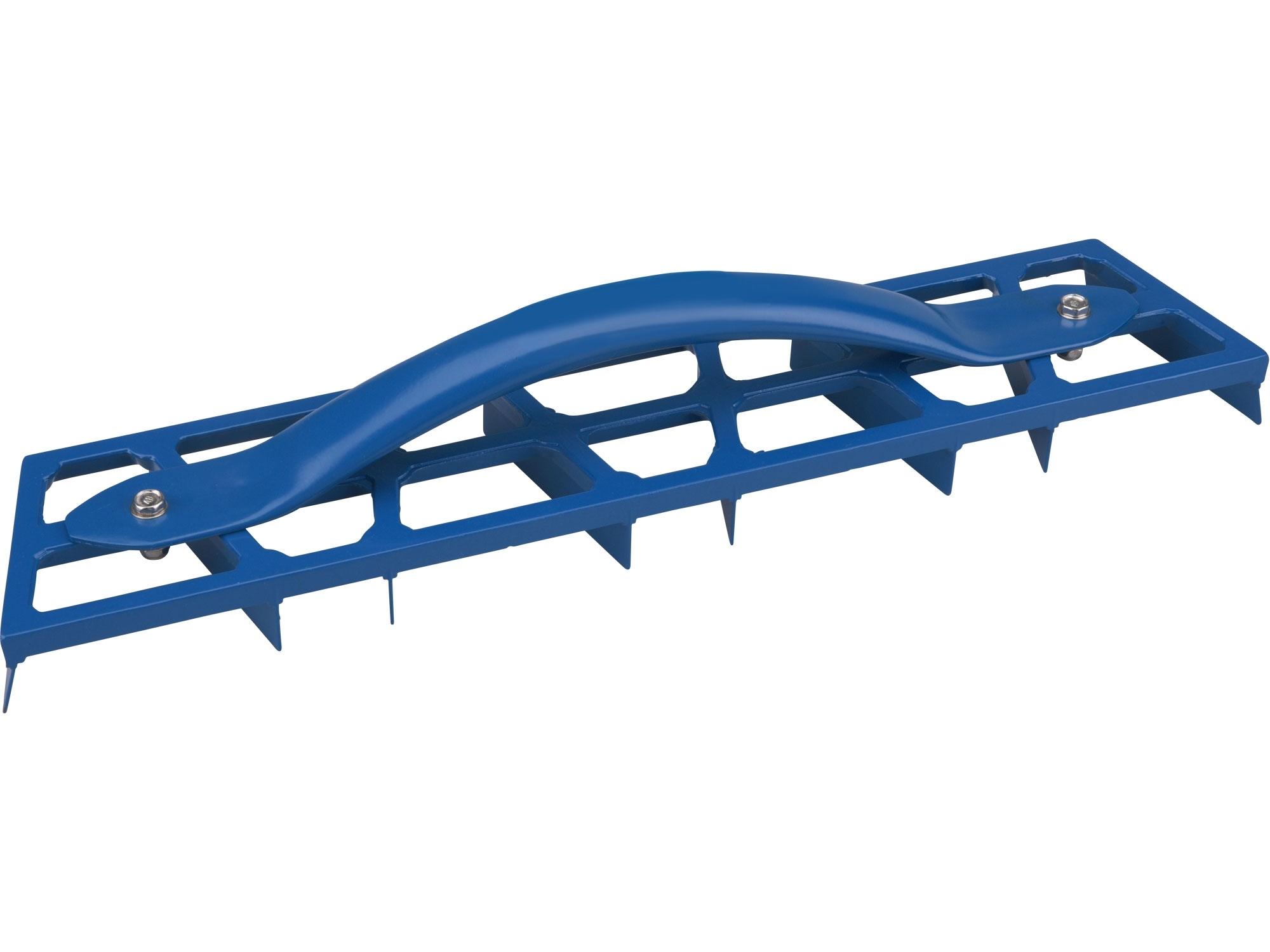 škrabák omítek  450x90mm, 8 břitů, hliníková konstrukce