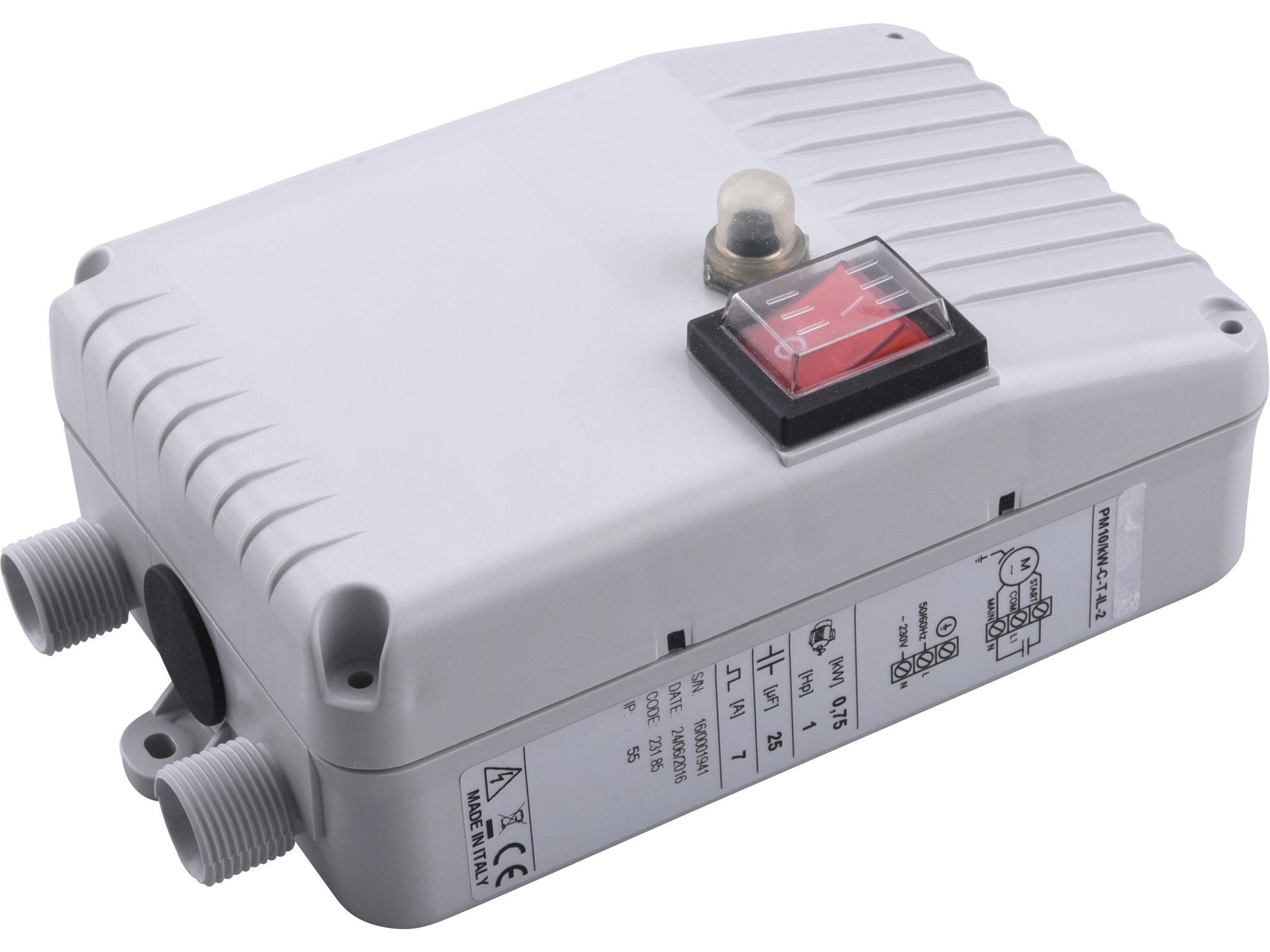 skřínka řídící EXTOL PREMIUM 8895062P pro čerpadlo do vrtu 8895062