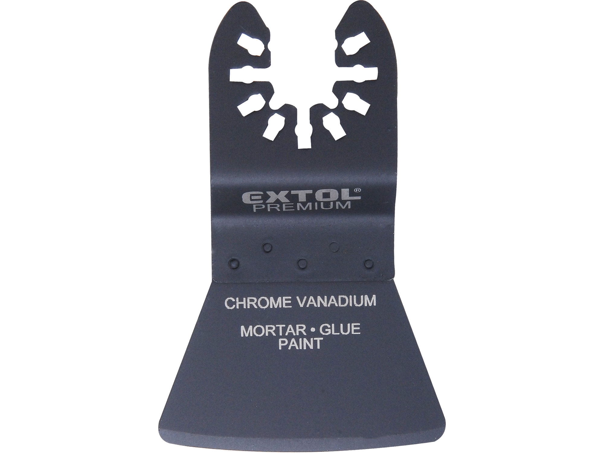 špachtle ohebná zaoblená, 52mm, HCS