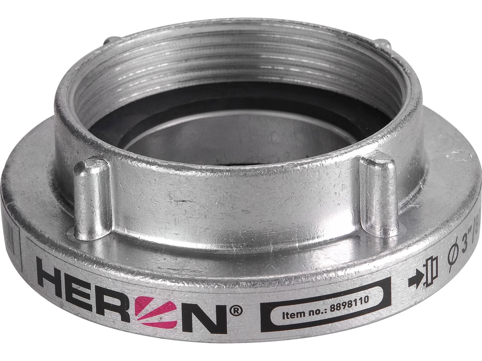 """spojka B75 pevná vnitřní závit W tlakové/sací těsnění, 3"""" (80mm), HERON 8898110"""