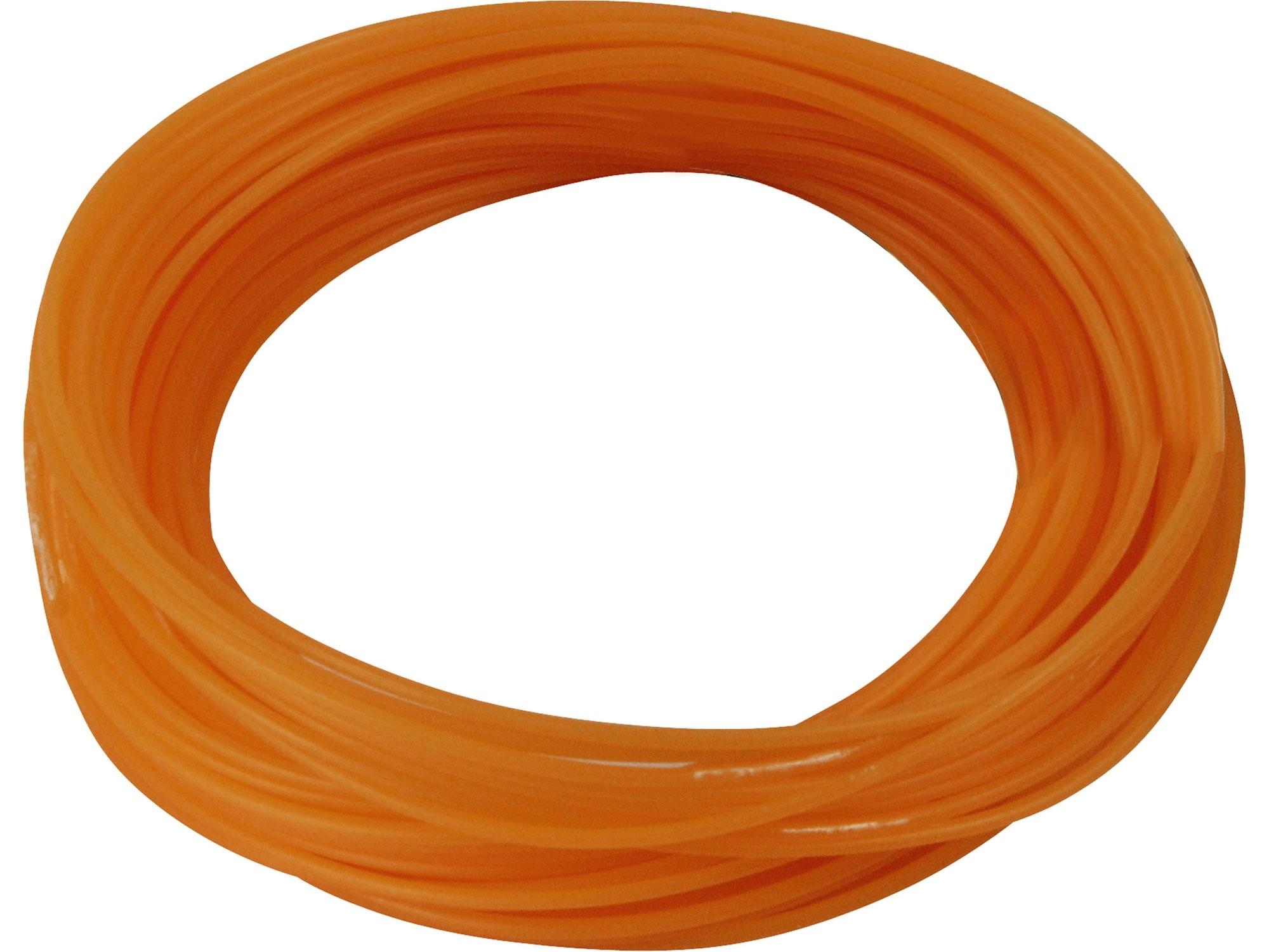 struna do sekačky, kruhový profil, 1,6mm, 15m, nylon
