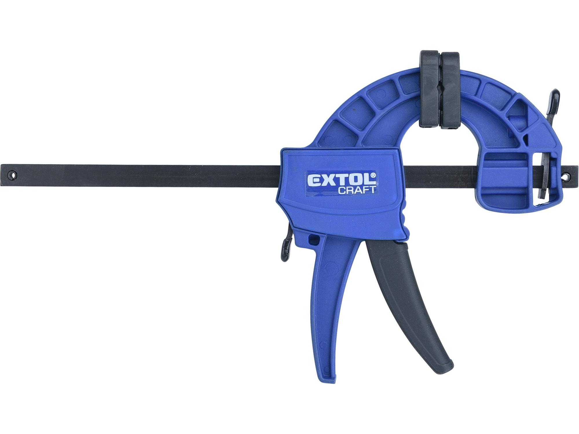 svěrka rychloupínací, 150mm, 165-300mm, EXTOL CRAFT 715521