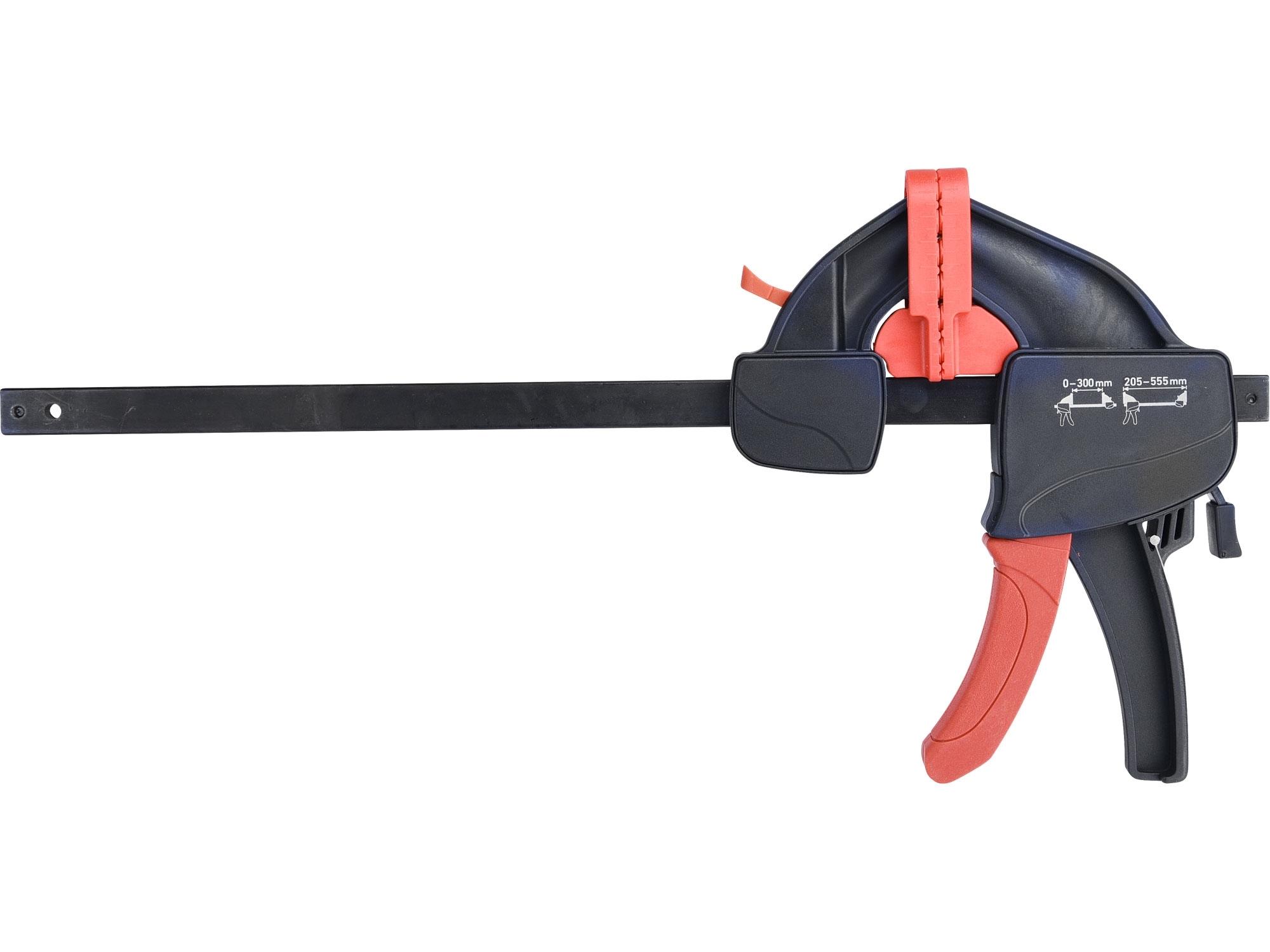 svěrka rychloupínací, 300mm, 205-555mm, EXTOL PREMIUM 8815213