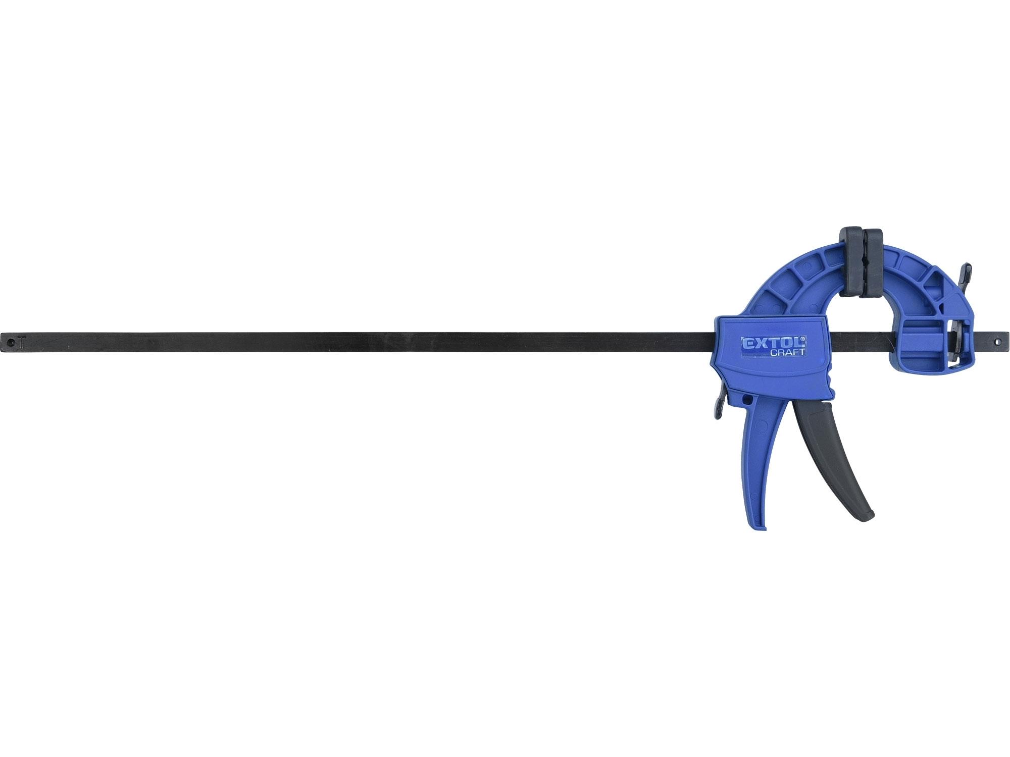 svěrka rychloupínací, 450mm, 165-600mm, EXTOL CRAFT 715524