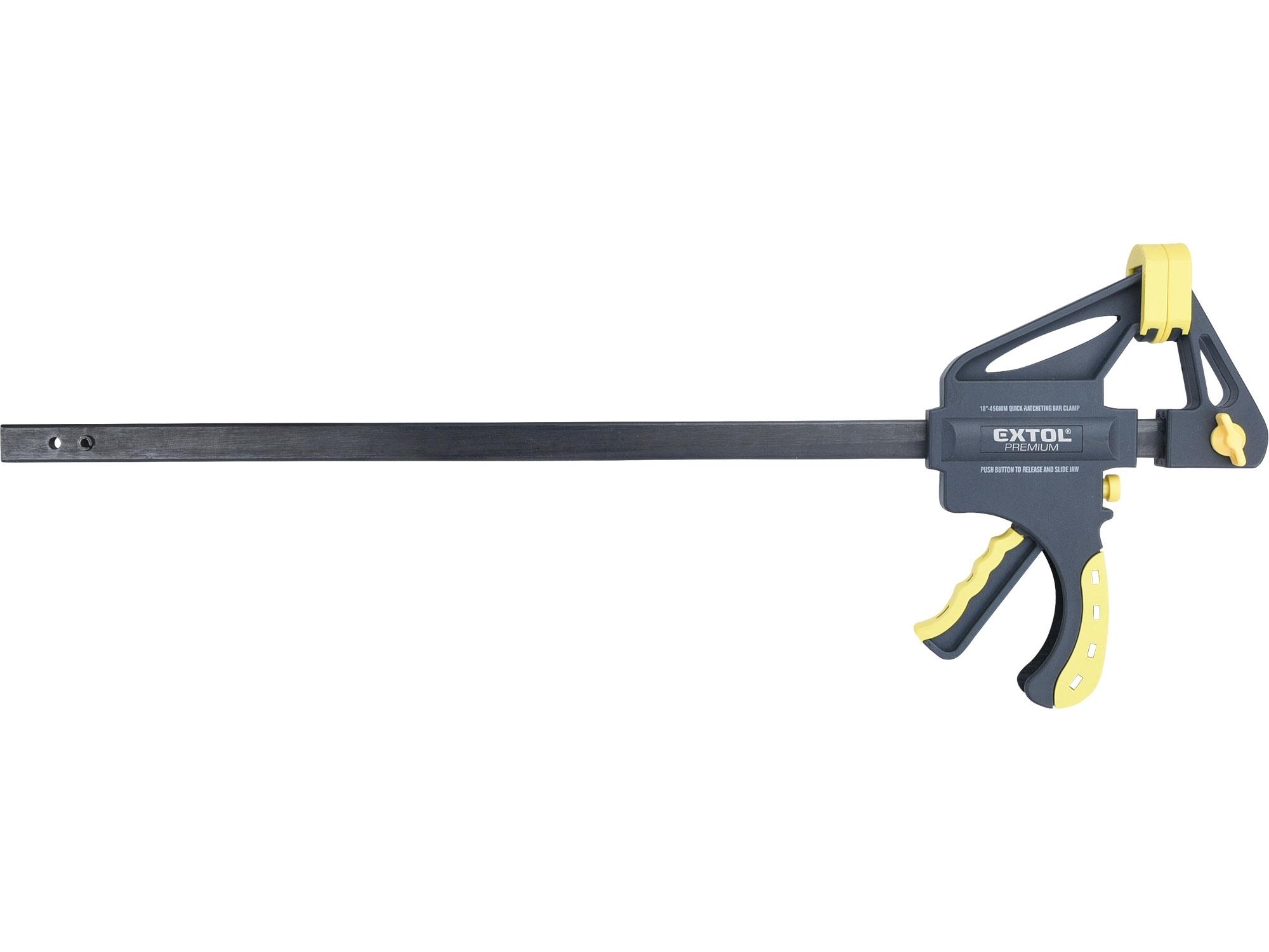 svěrka rychloupínací HEAVY DUTY, 450mm, EXTOL CRAFT 715506