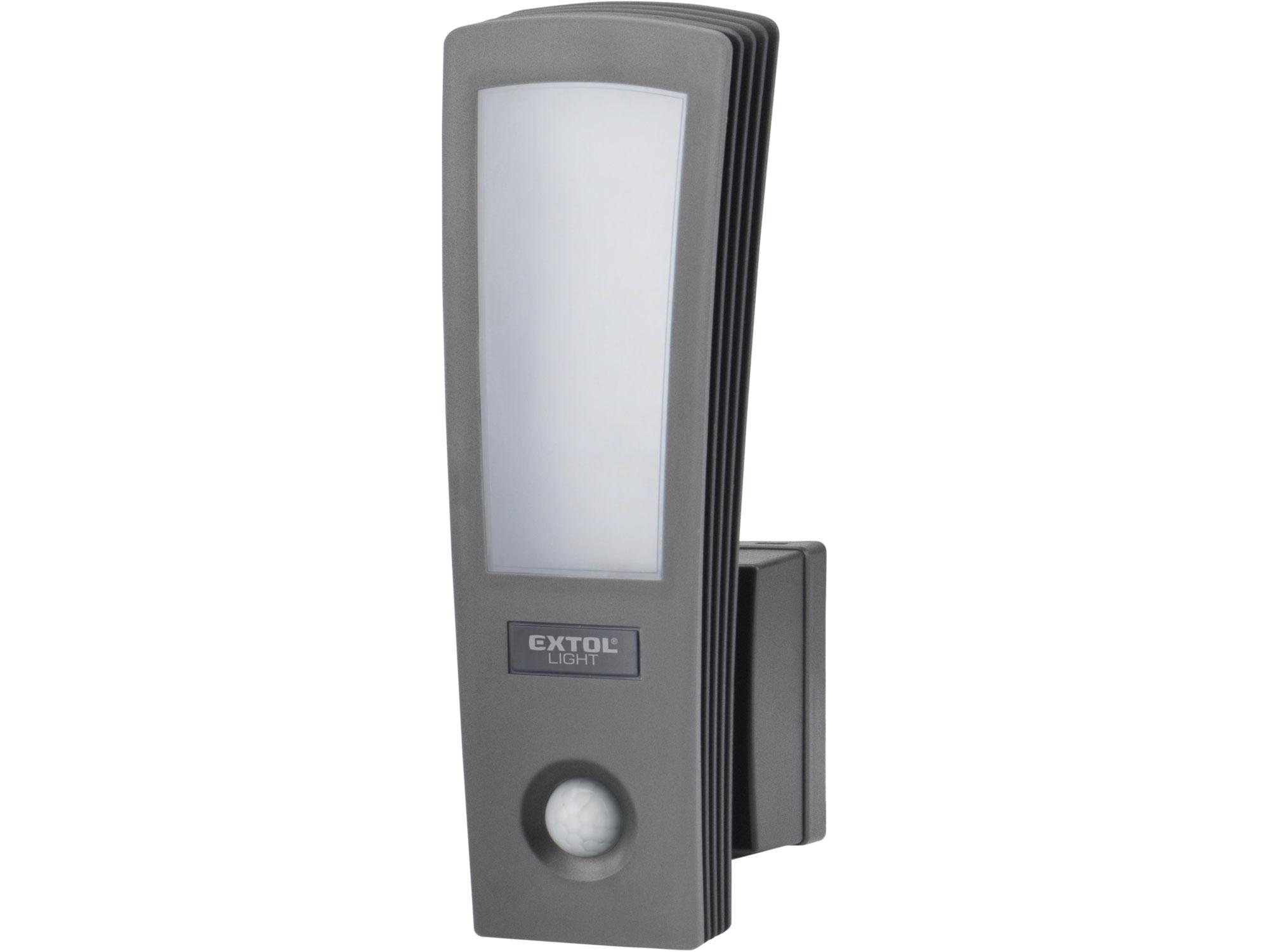 světlo LED, domovní, s pohybovým čidlem, 700lm, EXTOL LIGHT 43219