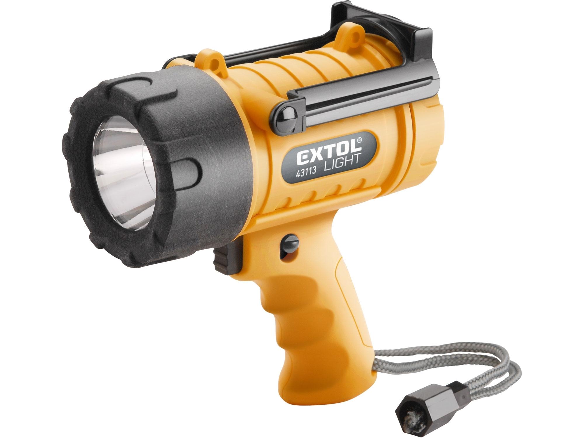 svítilna 5W CREE XPG LED, vodotěsná, 300lm, EXTOL LIGHT 43113
