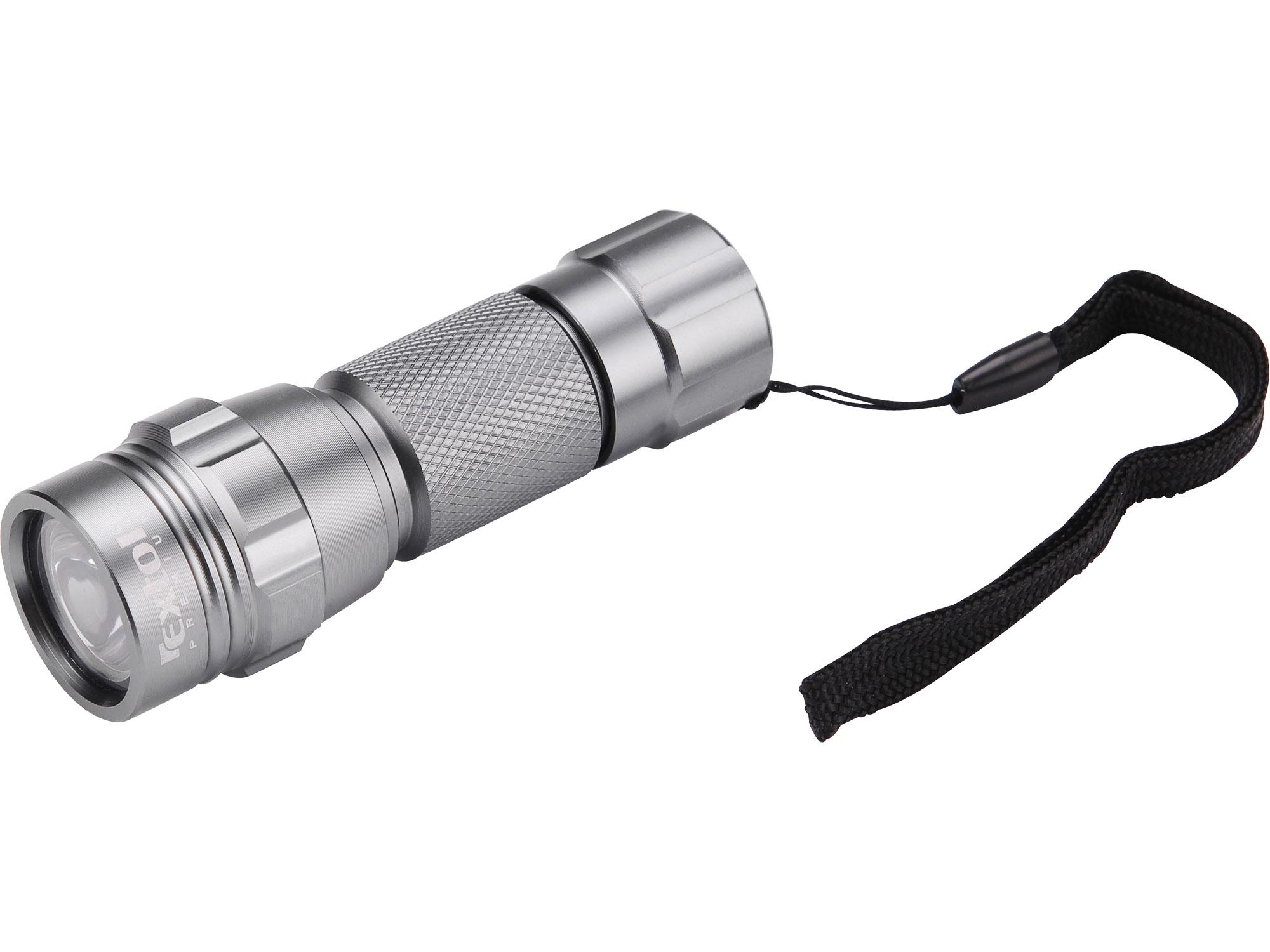 svítilna LED, celokovová, MINI, LED dioda, (30 000mcd), hliník