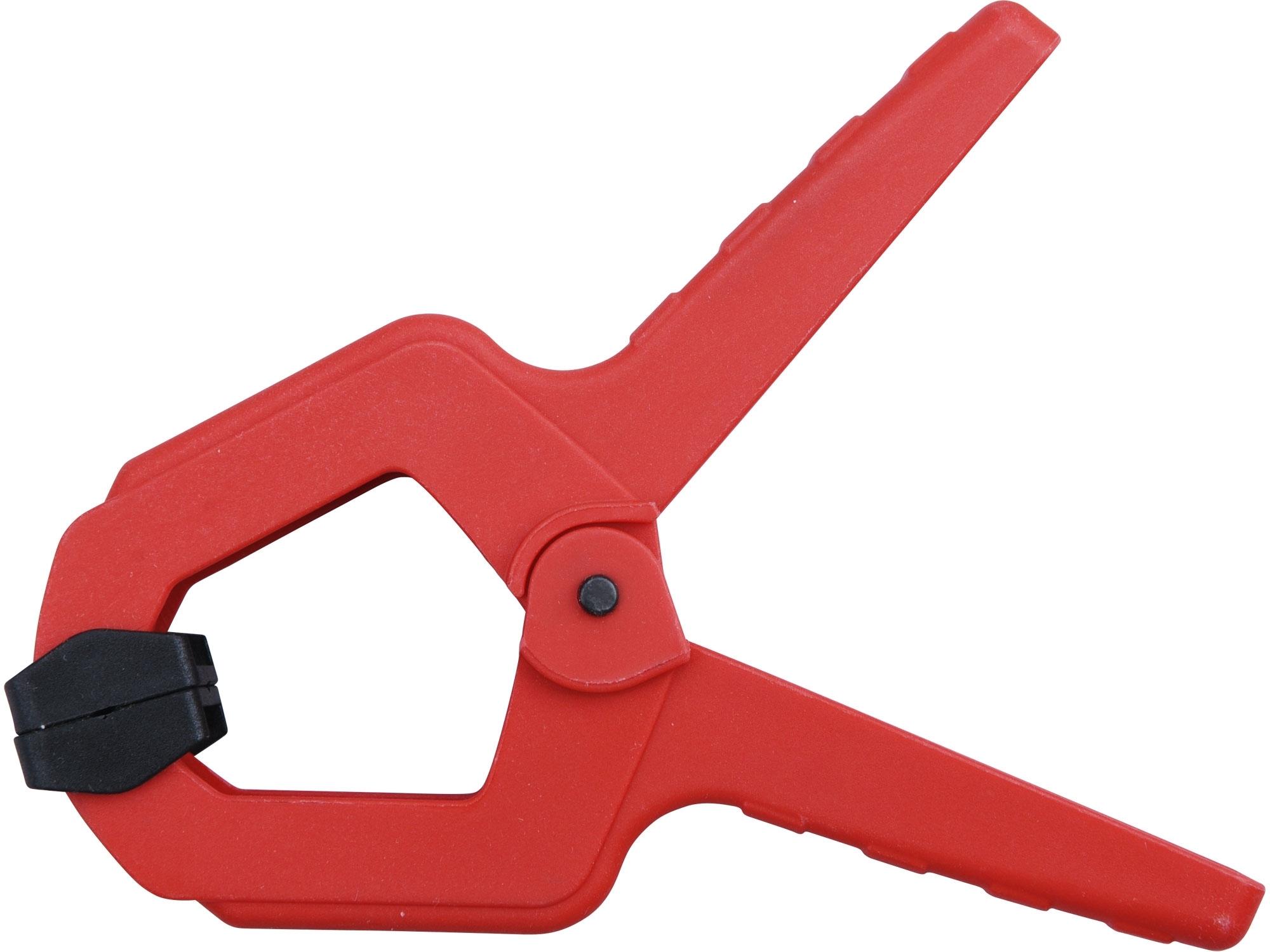 svorka pružinová plastová, 110mm, EXTOL PREMIUM 8815413
