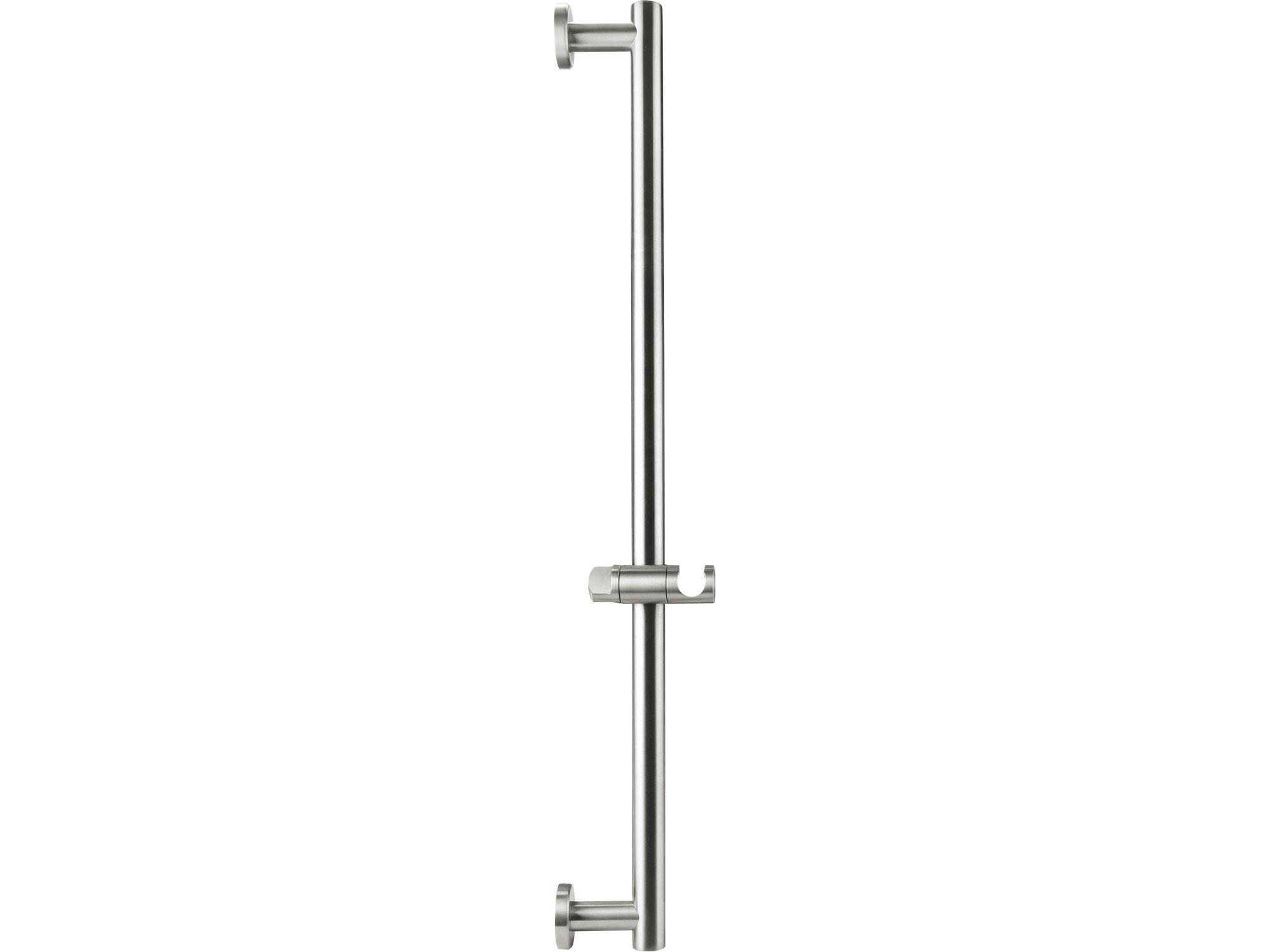 tyč s posuvným držákem sprchy, celokovová, 71cm, nerez, FRESHHH 830309