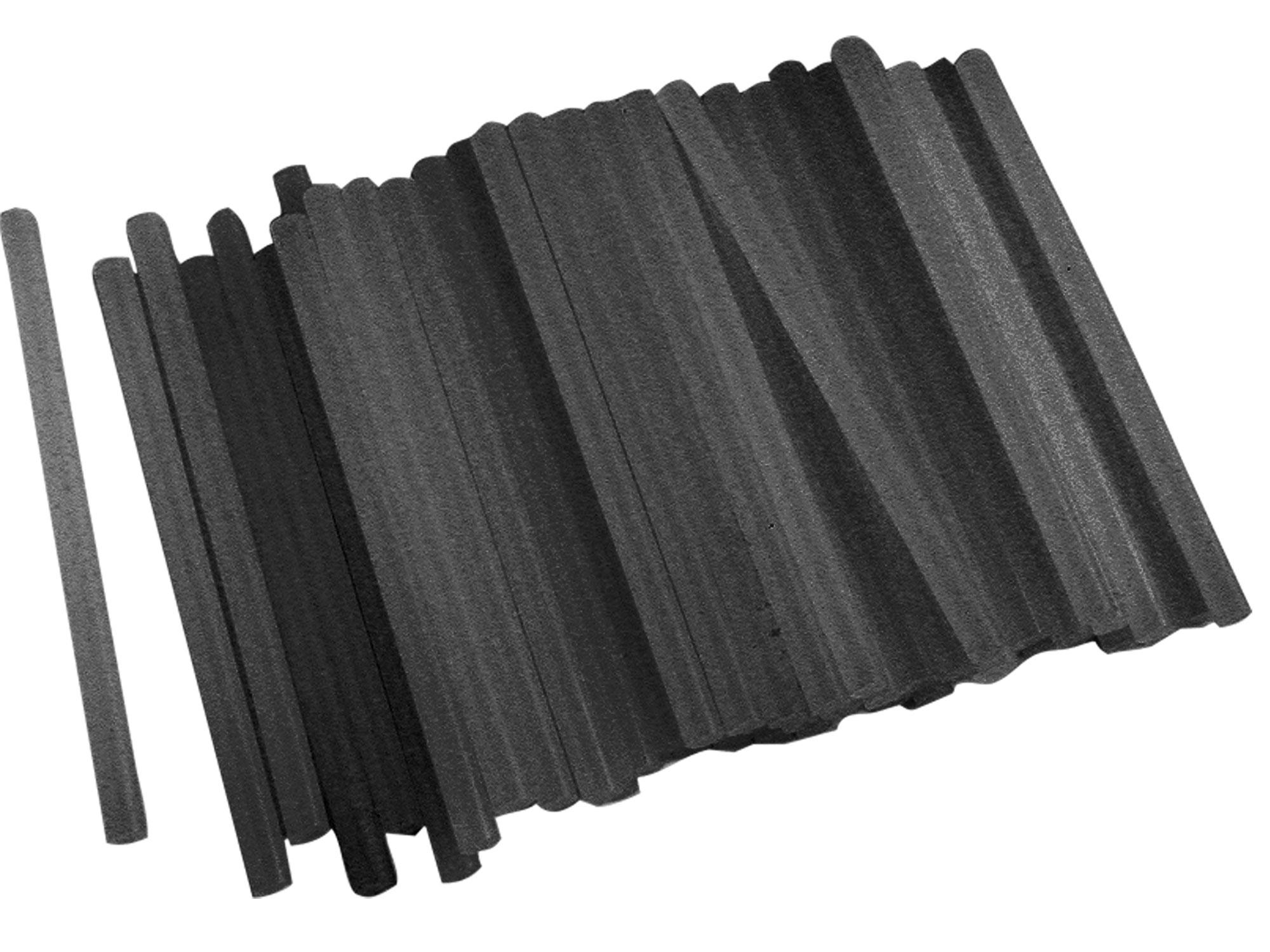 tyčinky tavné, černá barva, O 11x200mm, 1kg