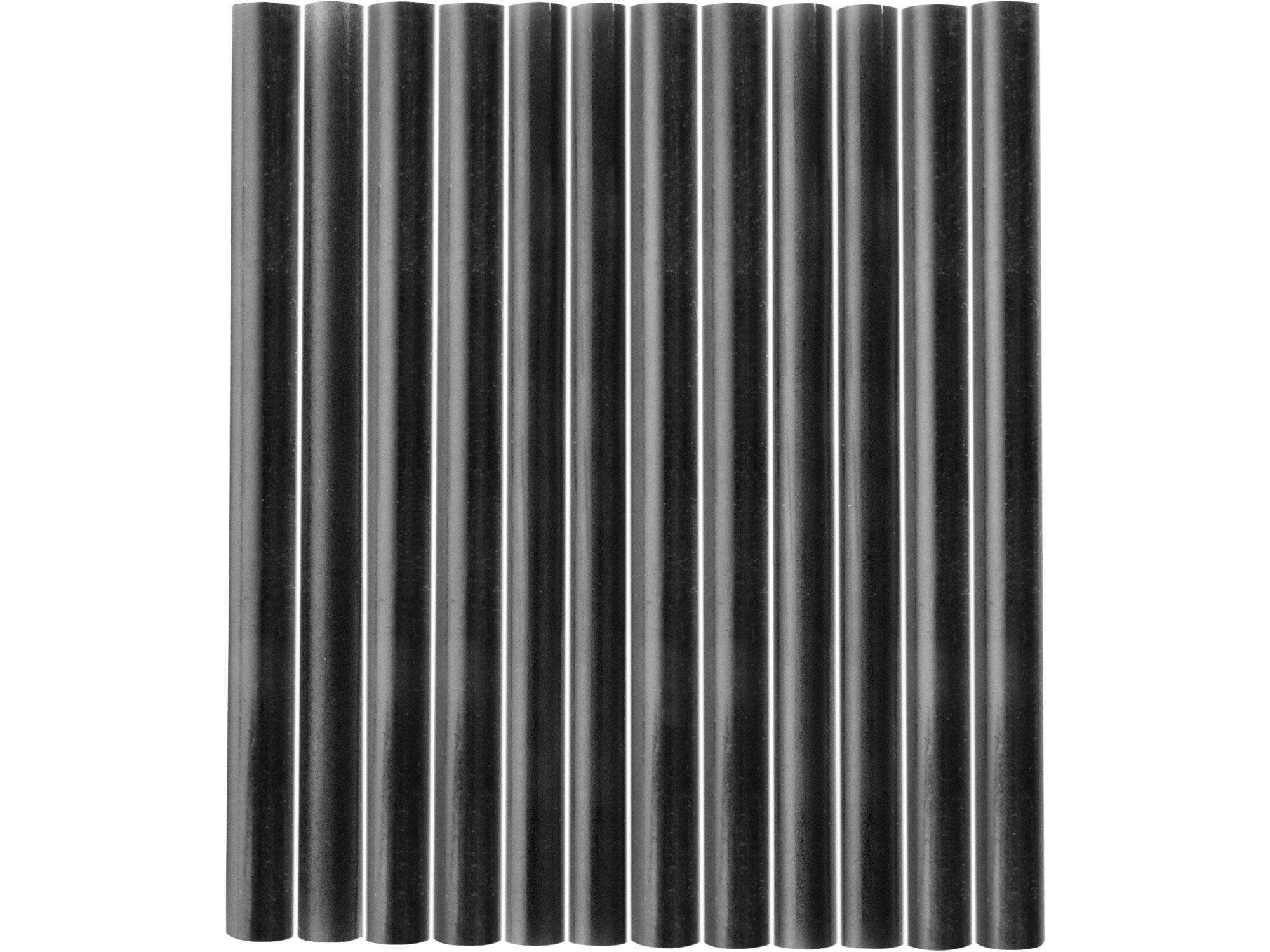 tyčinky tavné, černá barva, pr.7,2x100mm, 12ks 9912