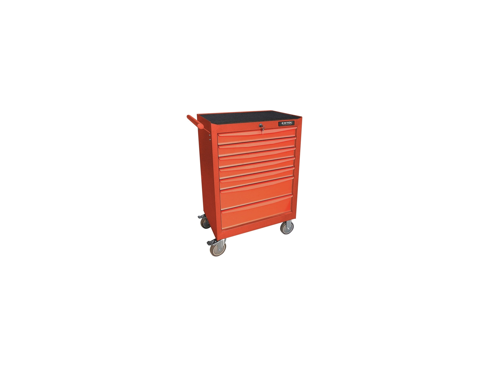vozík na nářadí, rozměr vozíku 680x460x1020mm, EXTOL PREMIUM 8856050