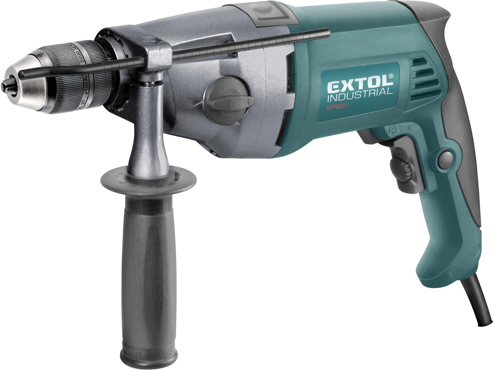 Vrtačka s příklepem 1050W, EXTOL Industrial HDD 1050 C 8790051