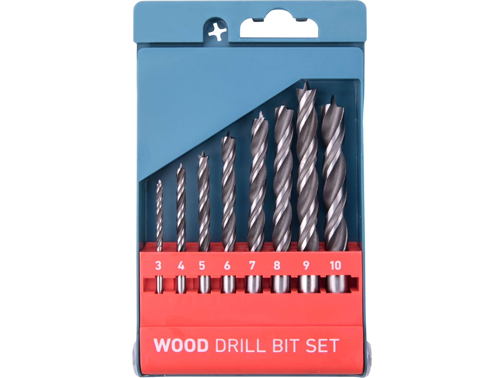 Vrtáky 3-10 8ks do dřeva Extol