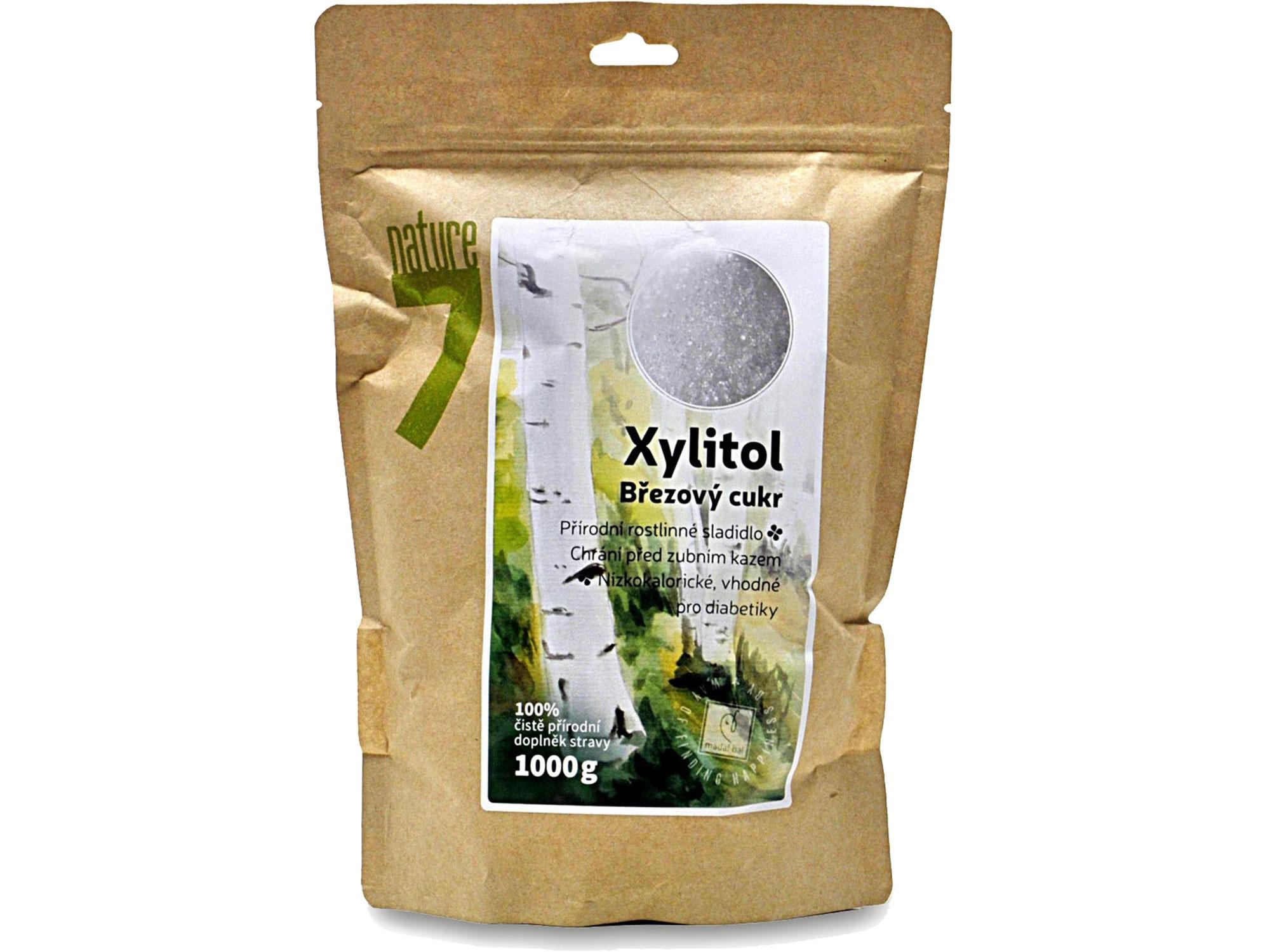 xylitol cukr, 1000g jemná krupice