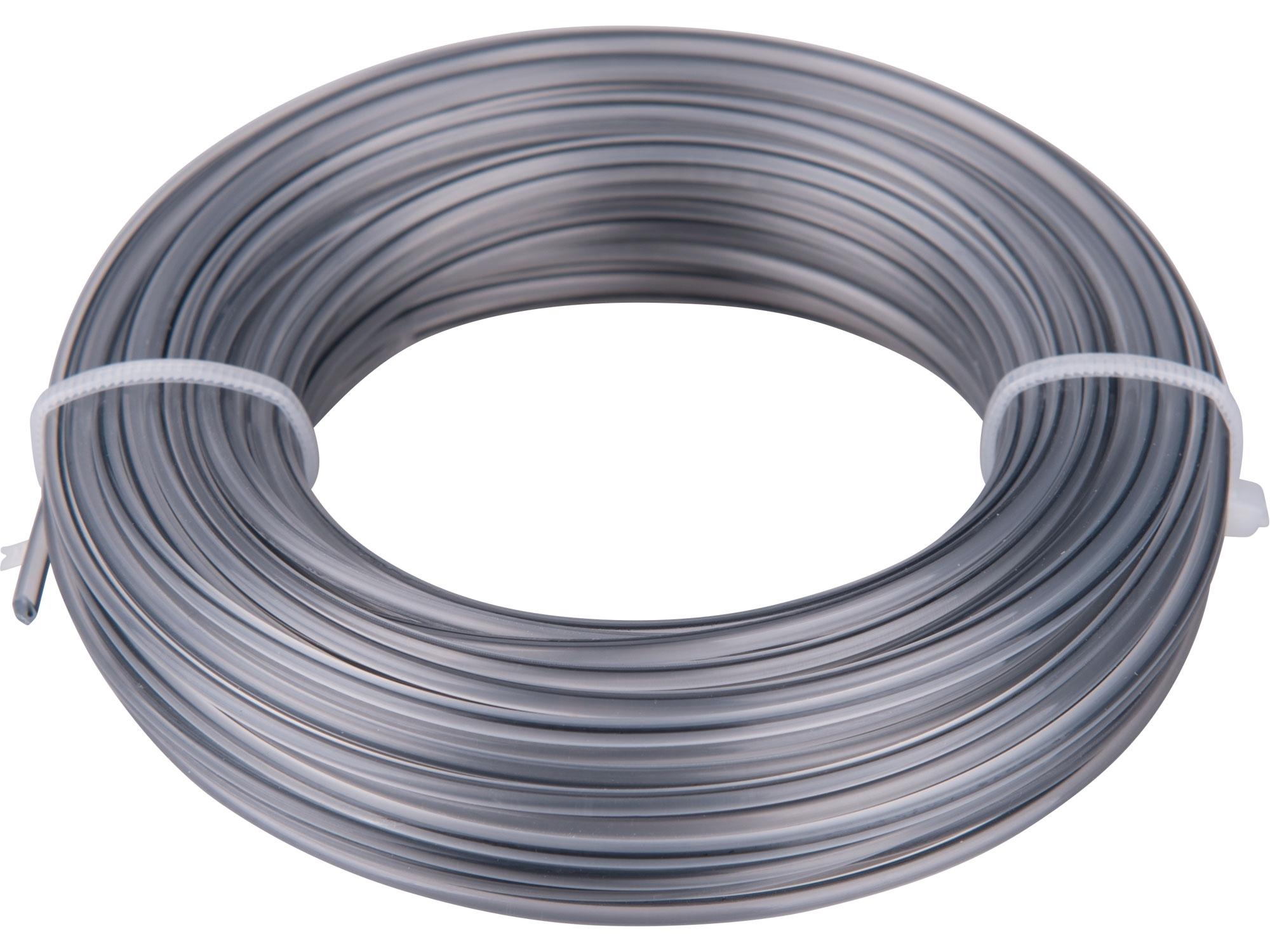 žací struna do sekačky s jádrem, kruhový profil, 2,0mm, 15m, PA66