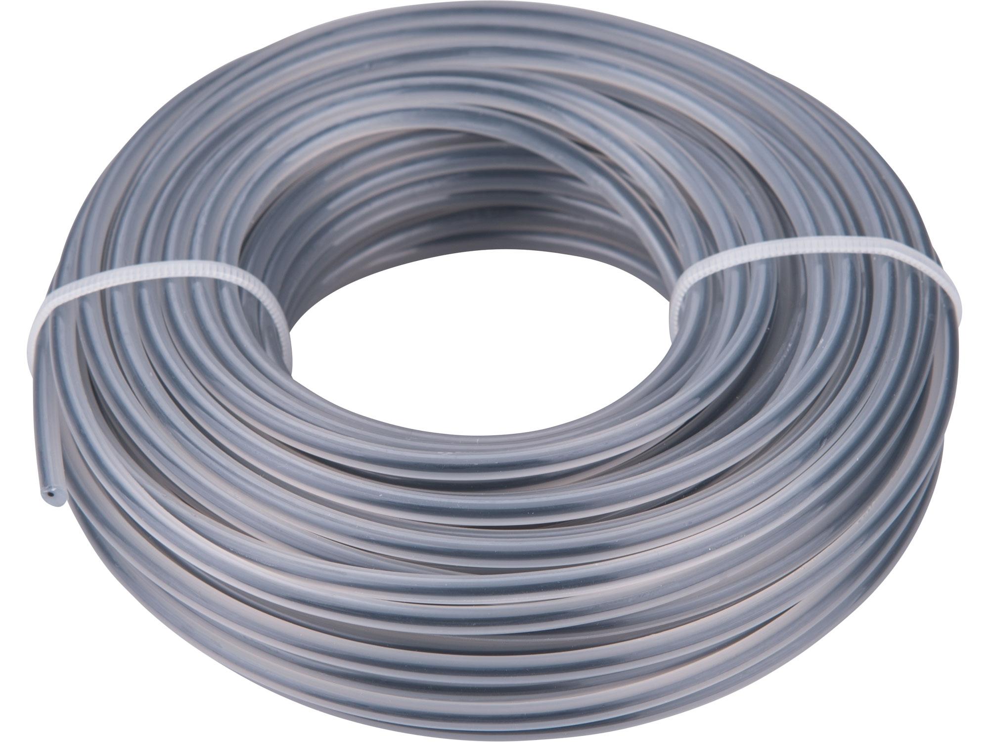žací struna do sekačky s jádrem, kruhový profil, 3,0mm, 15m, PA66