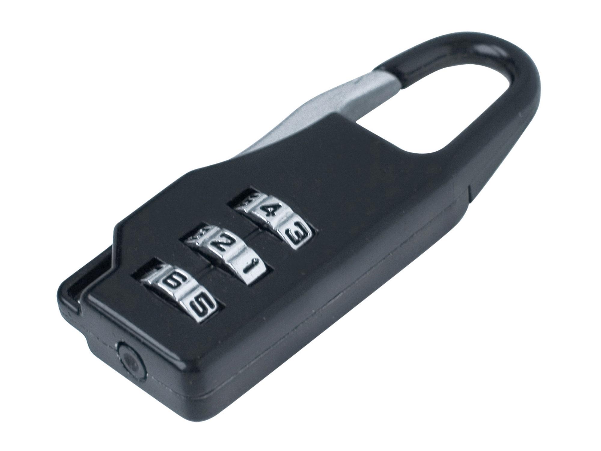 zámek kombinační s trojmíst. kódem, 21,5x60mm, EXTOL CRAFT 78110