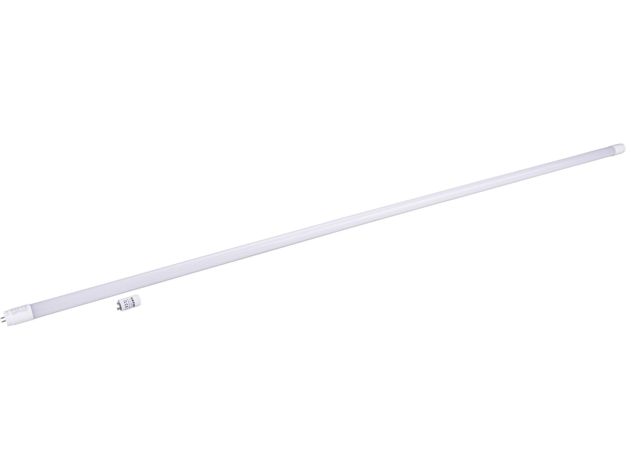 zářivka LED, 150cm, 2200lm, T8, neutrální bílá, PC + ALU