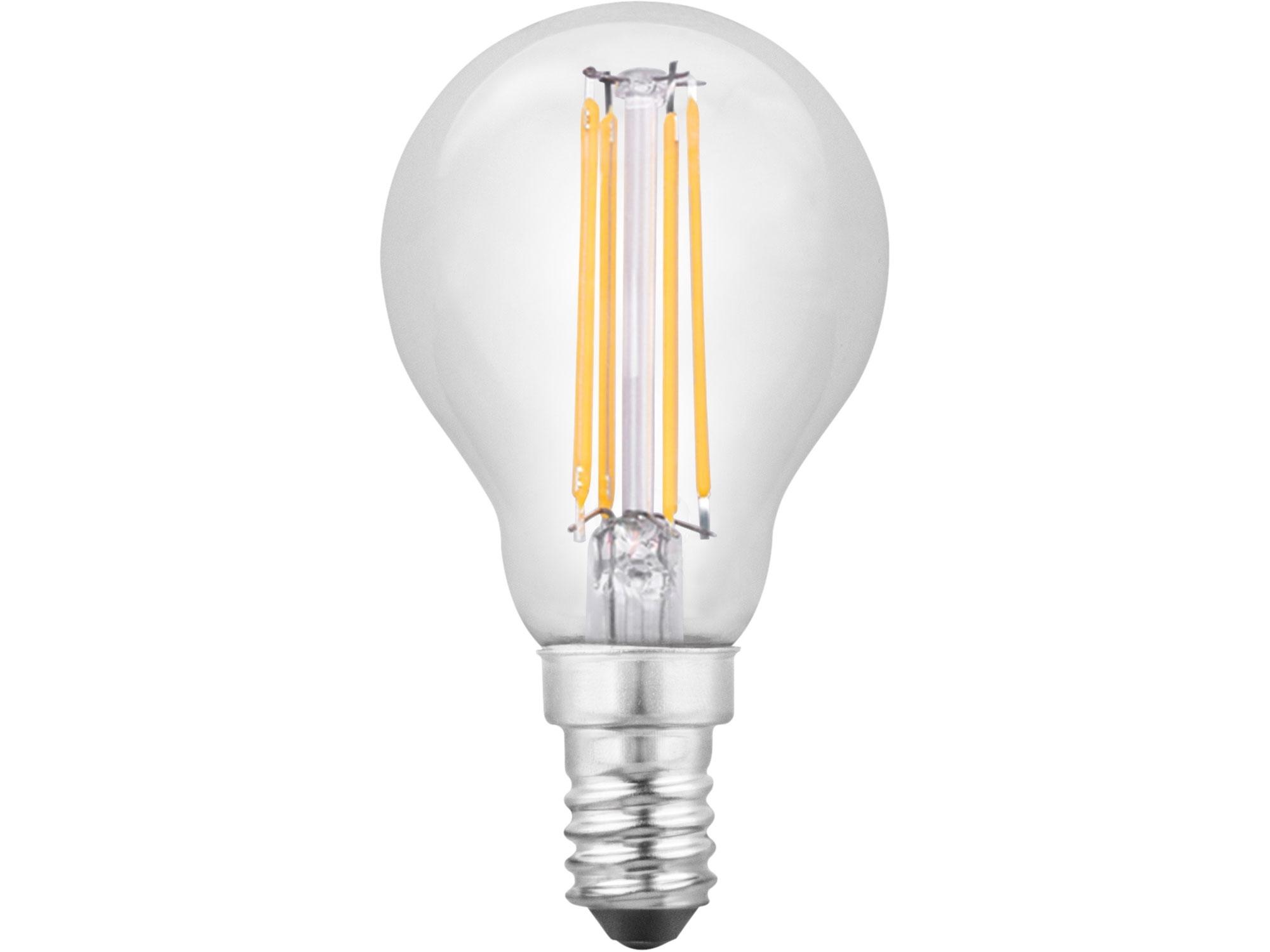 žárovka LED 360°, 400lm, 4W, E14, teplá bílá