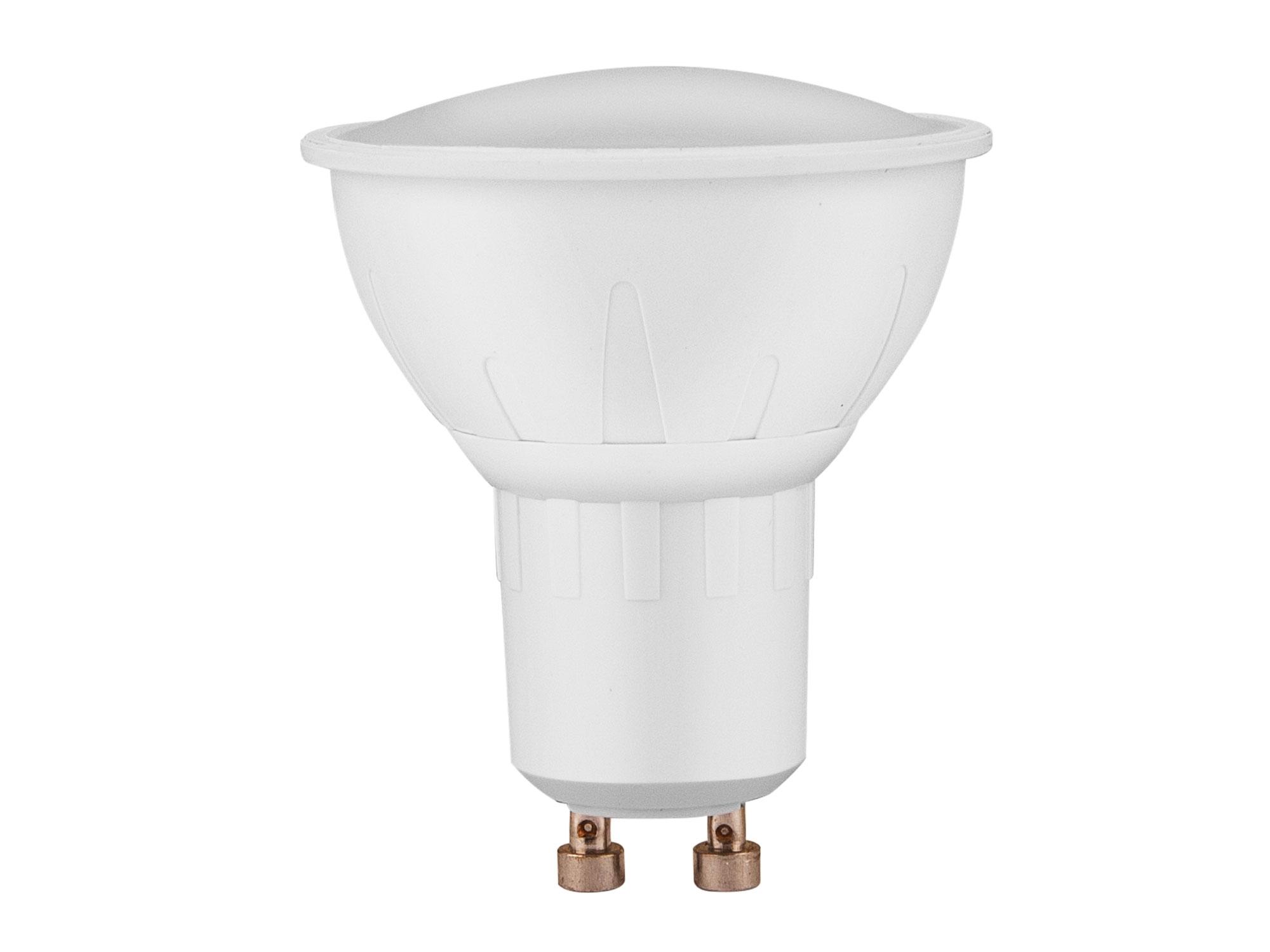 žárovka LED reflektorová, 4W, 320lm, GU10, teplá bílá, EXTOL LIGHT 43032