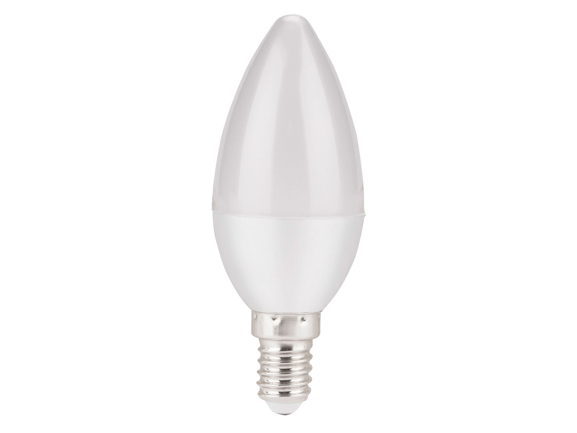 žárovka LED svíčka, 5W, 440lm, E14, denní bílá
