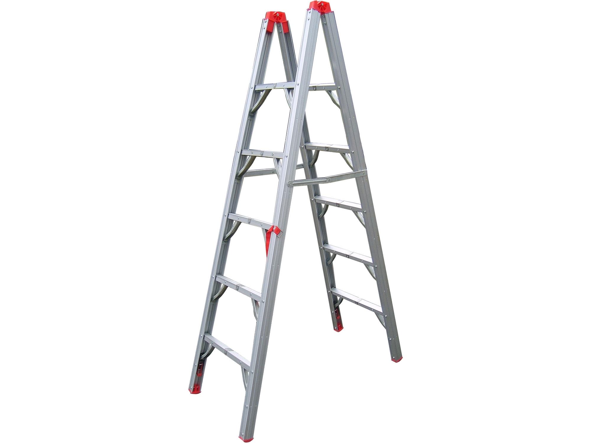 žebřík skládací - štafle, 1,8m, EXTOL PREMIUM 8849020